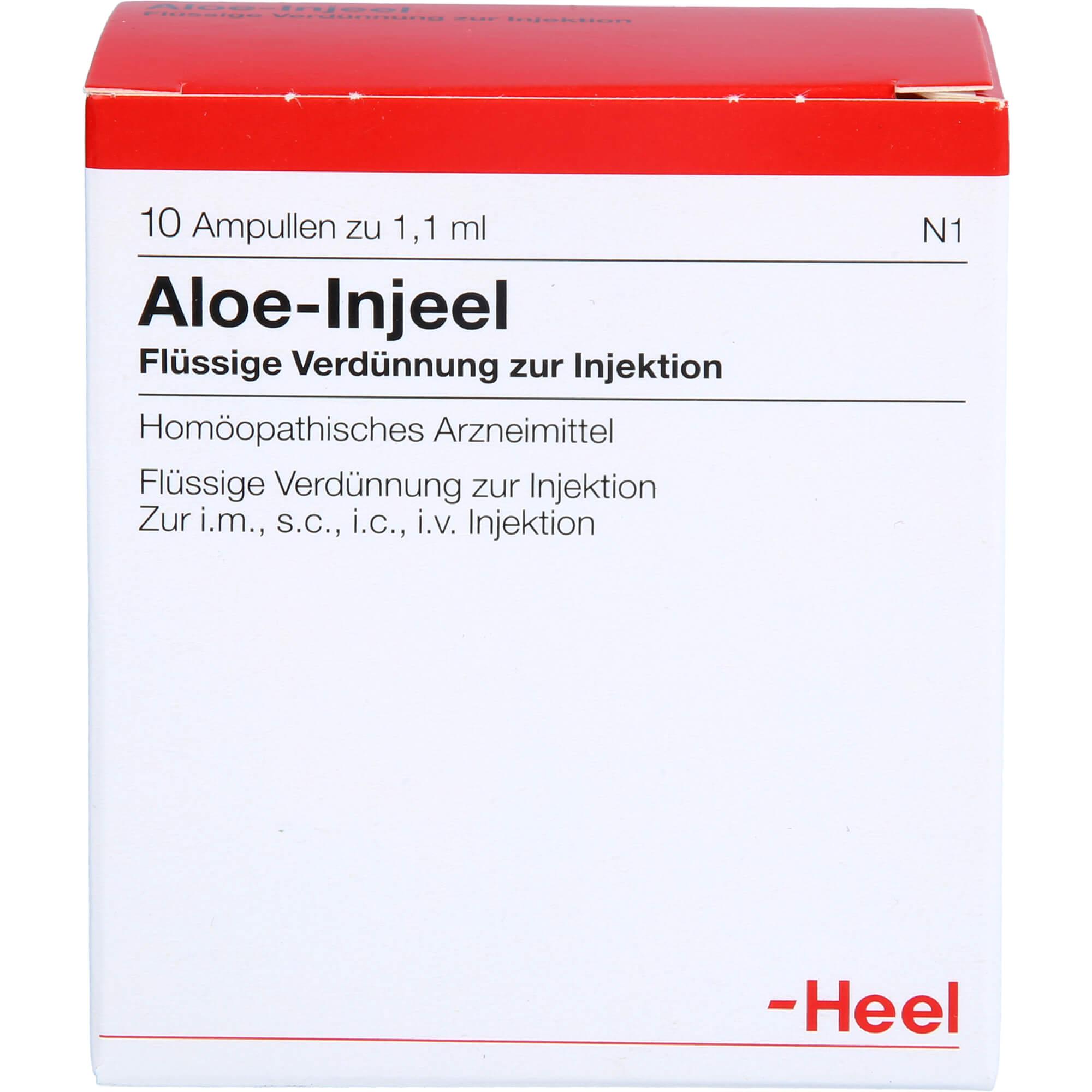 ALOE-INJEEL-Ampullen