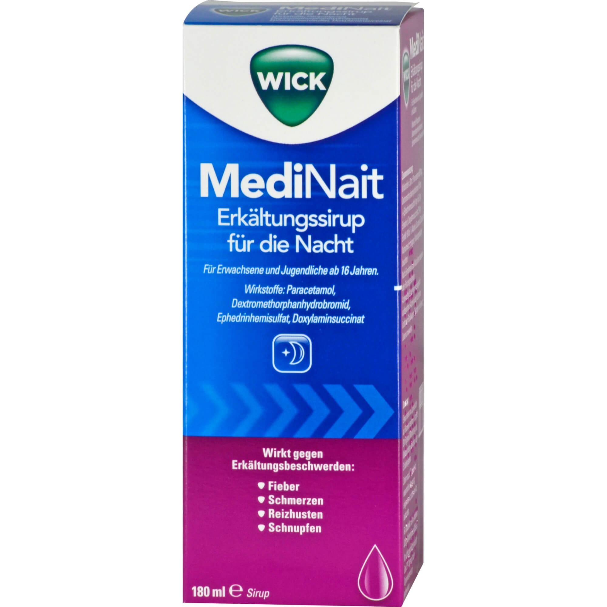 WICK-MediNait-Erkaeltungssaft