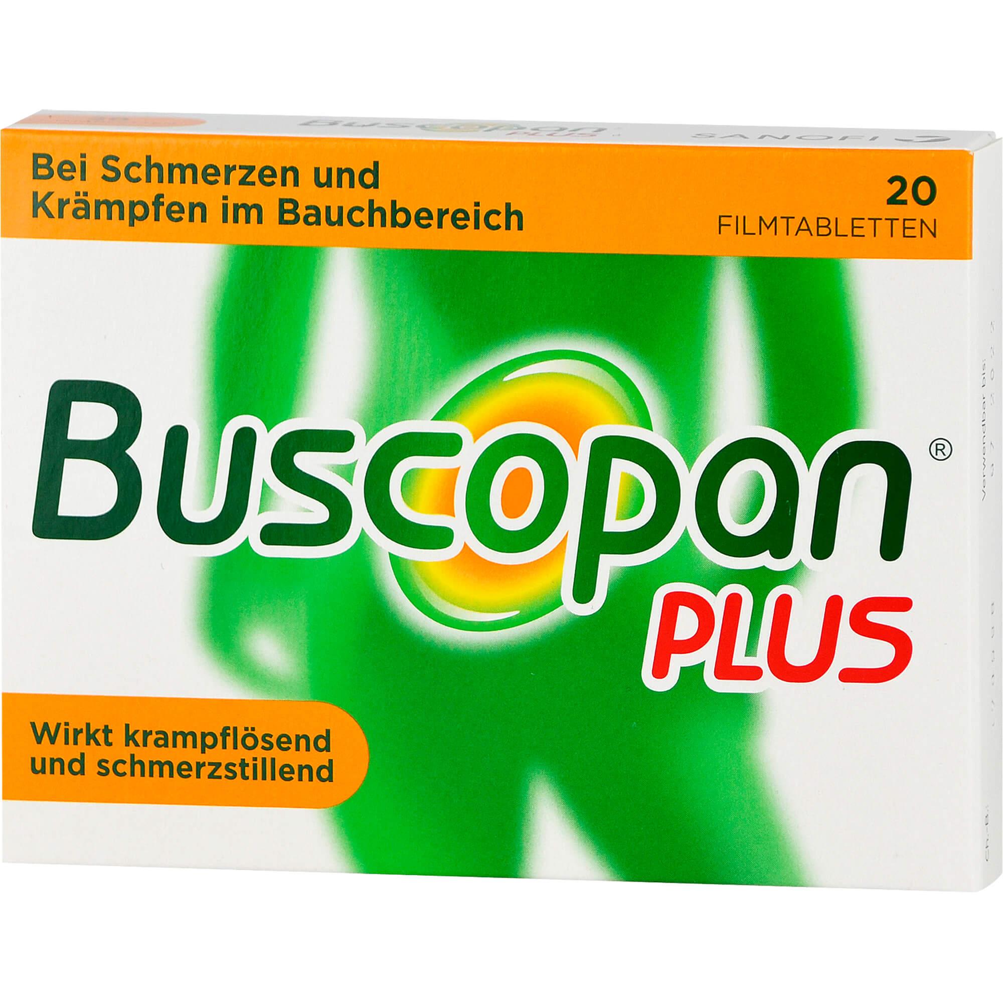 BUSCOPAN-plus-Filmtabletten