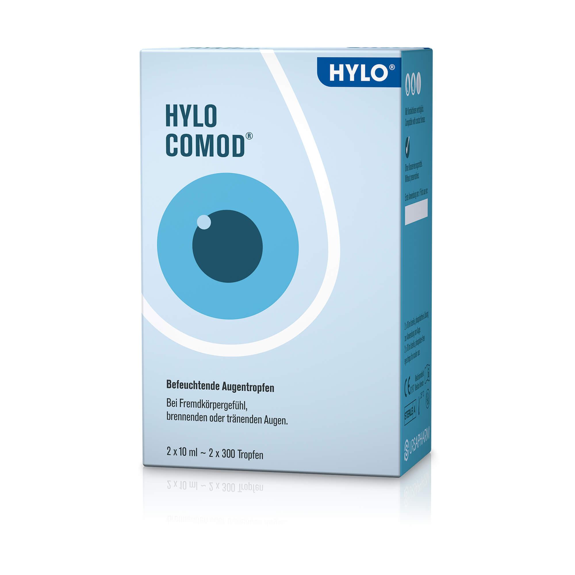 HYLO-COMOD-Augentropfen
