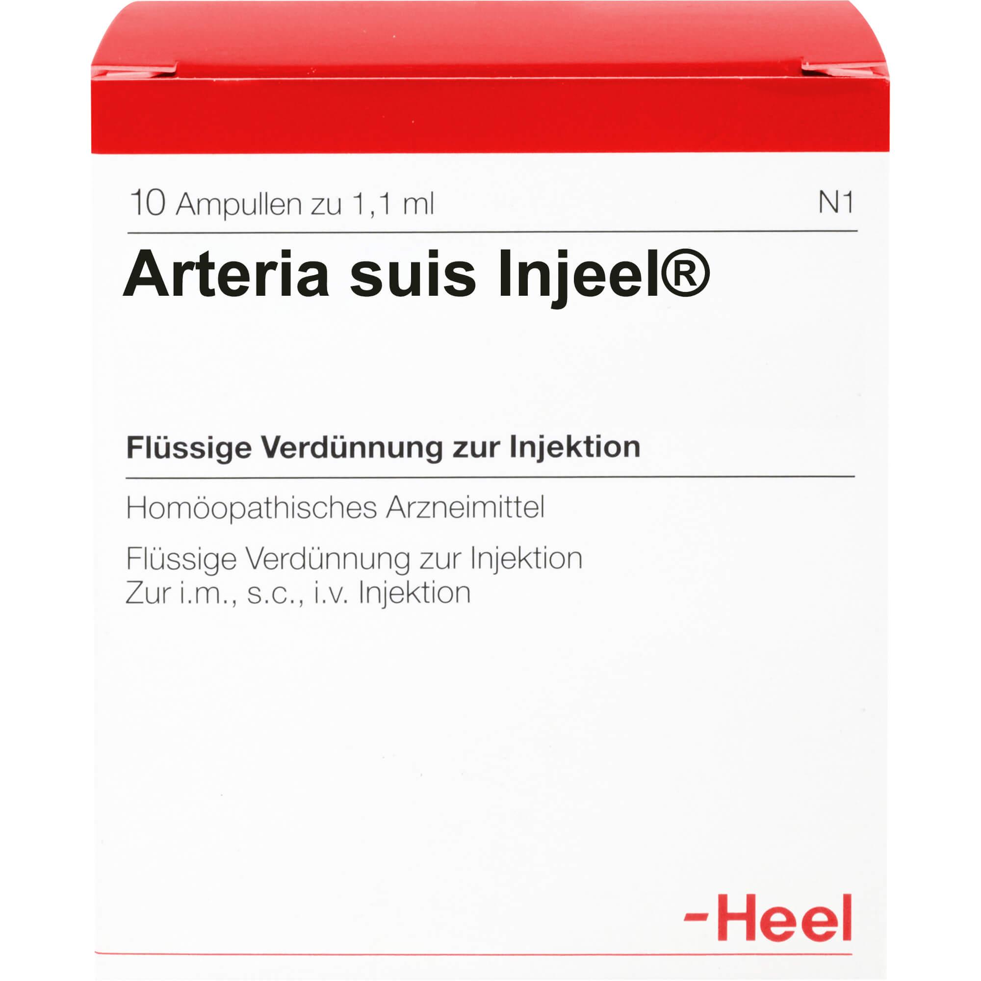 ARTERIA-SUIS-Injeel-Ampullen