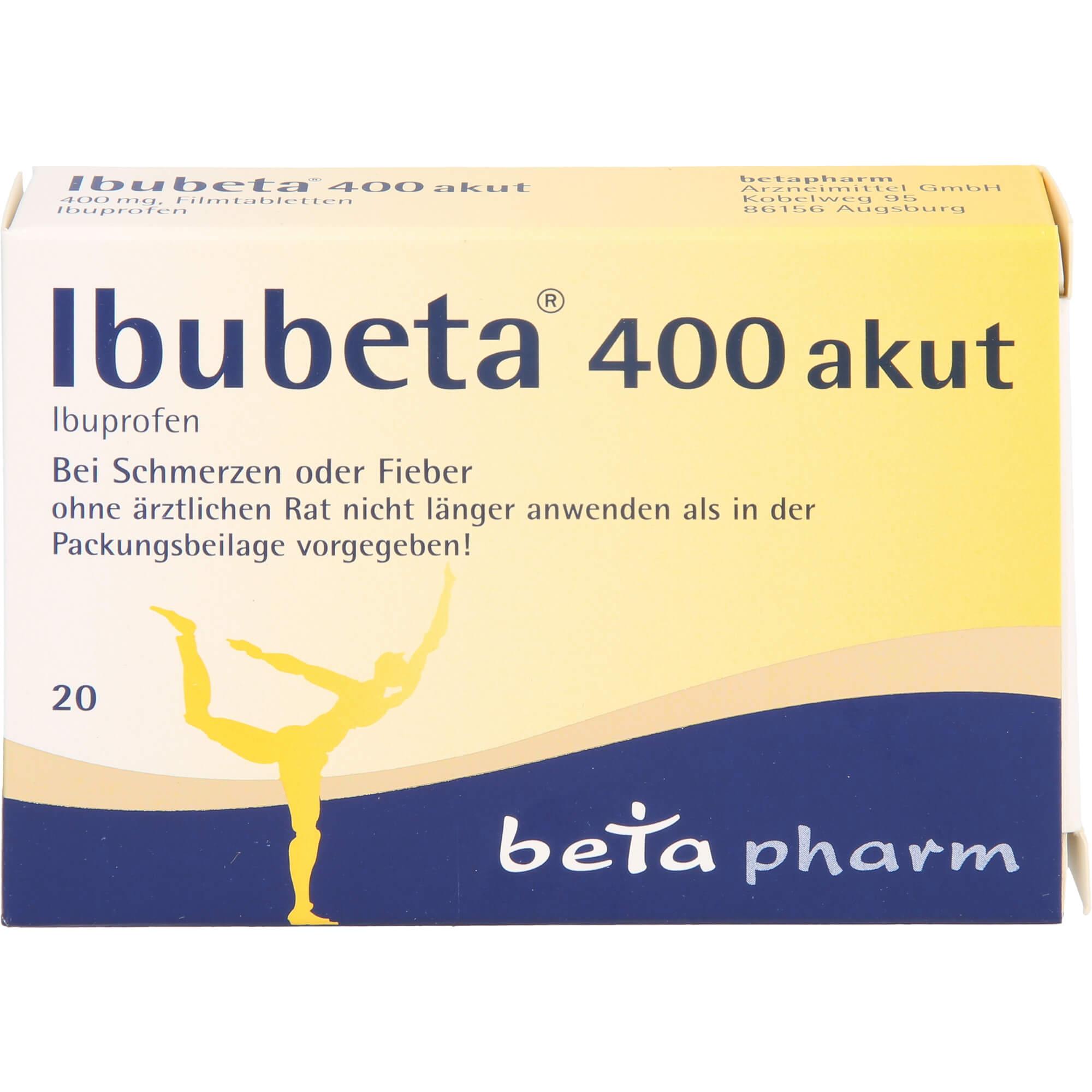 IBUBETA-400-akut-Filmtabletten