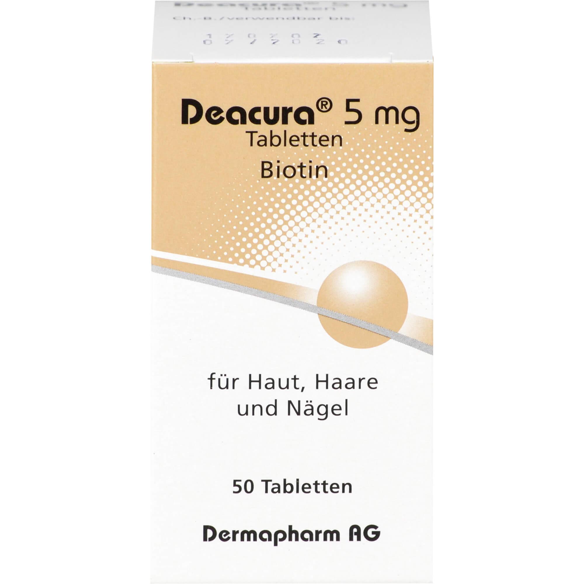 DEACURA-5-mg-Tabletten