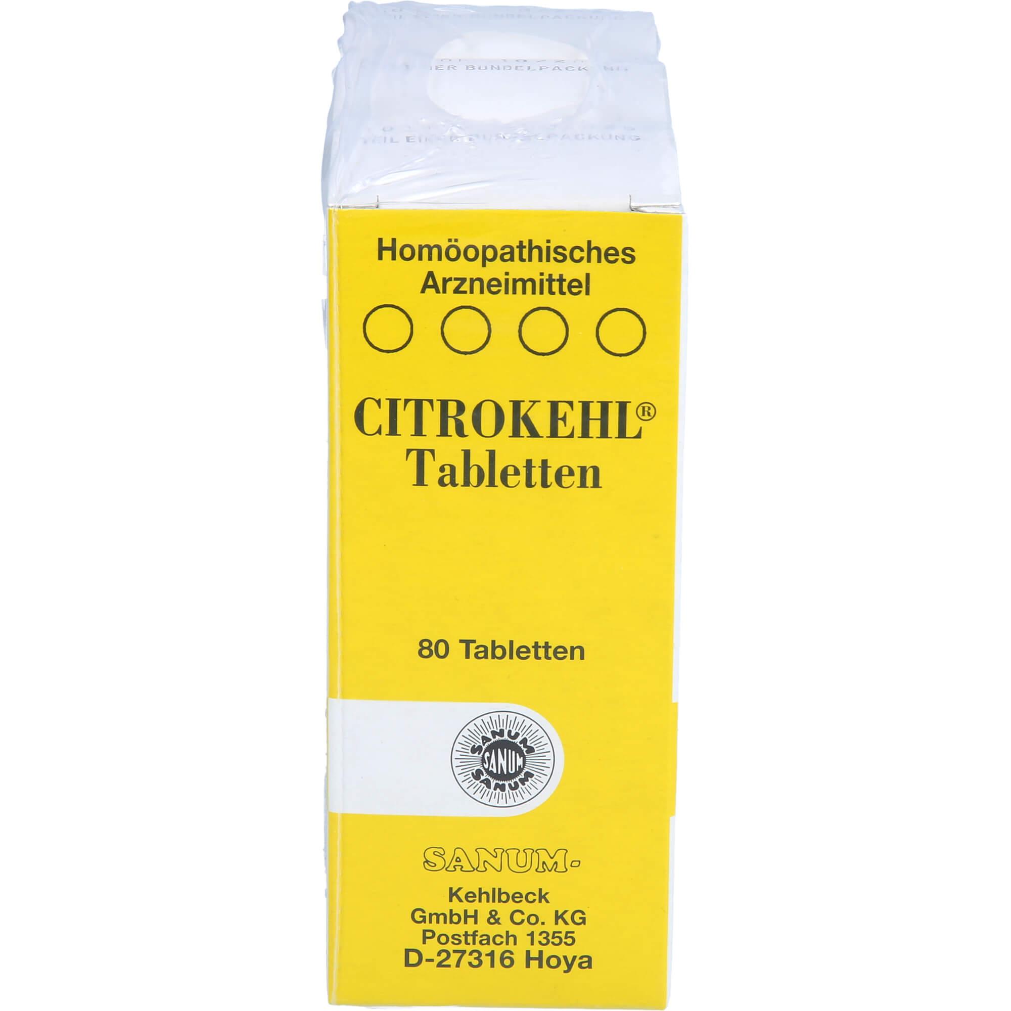 CITROKEHL-Tabletten