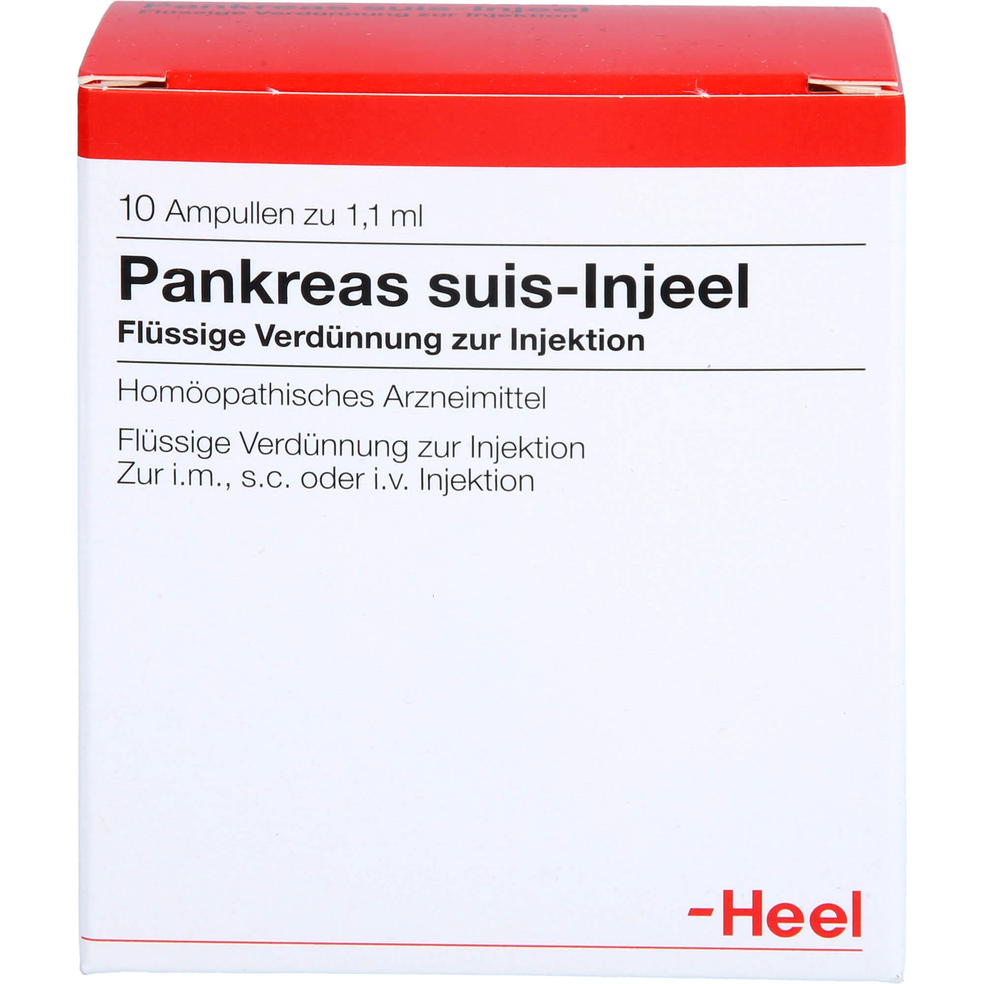 PANKREAS-SUIS-Injeel-Ampullen
