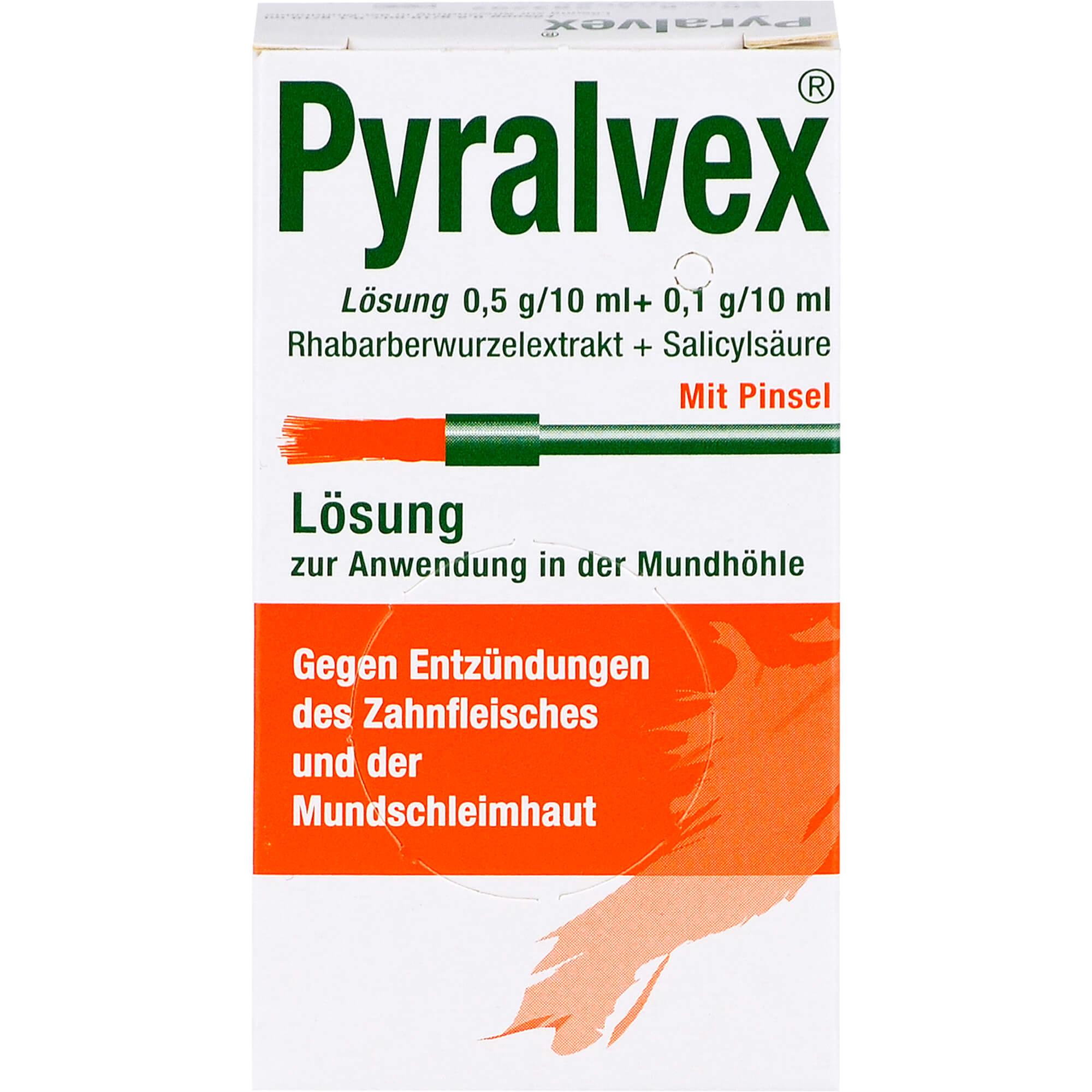 PYRALVEX-Loesung