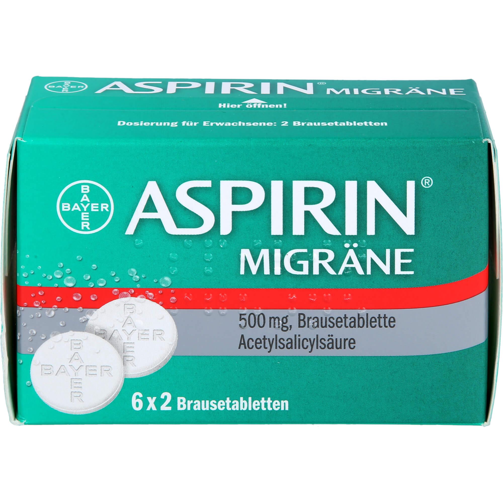 ASPIRIN-MIGRAeNE-Brausetabletten