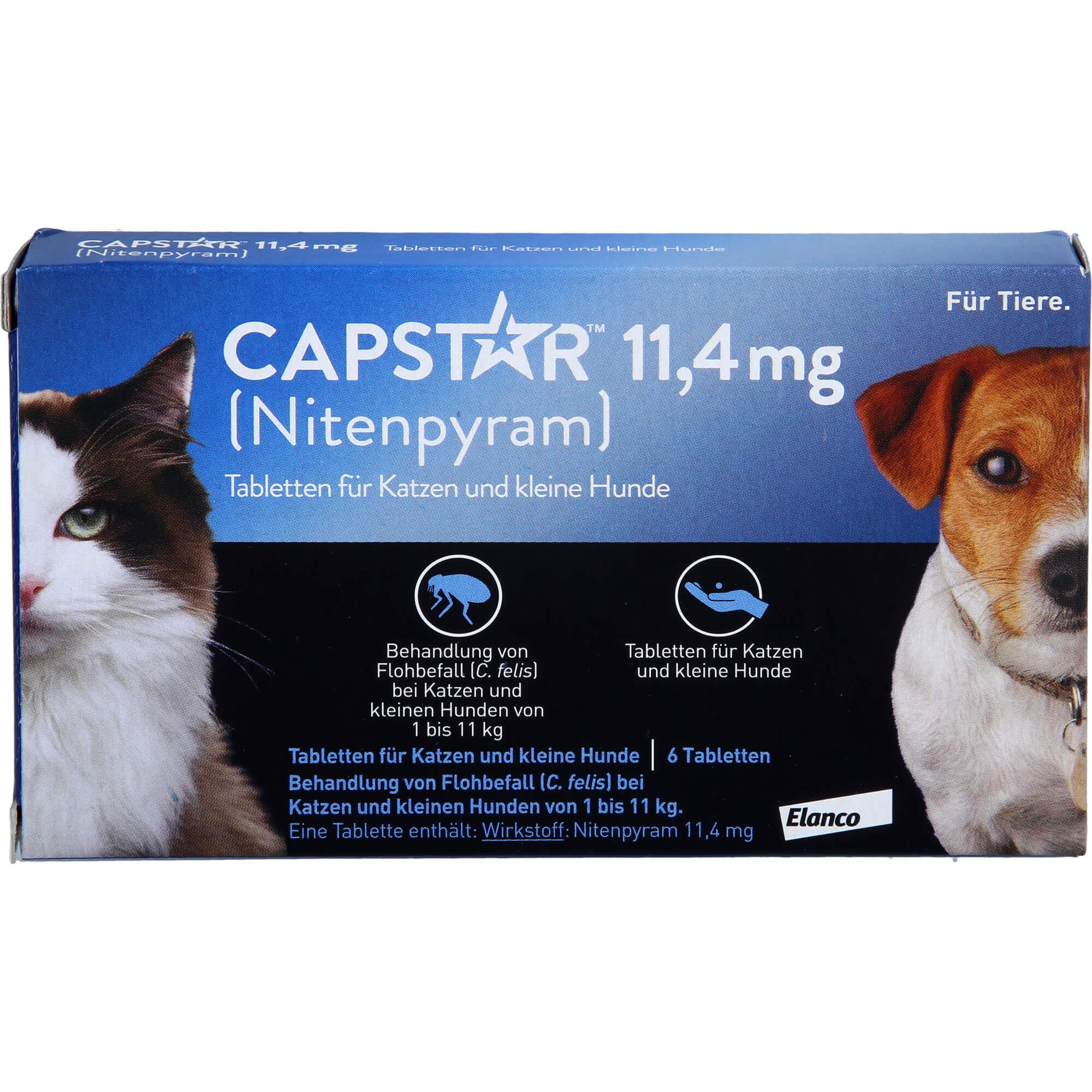 CAPSTAR-11-4-mg-Tabletten-f-Katzen-kleine-Hunde