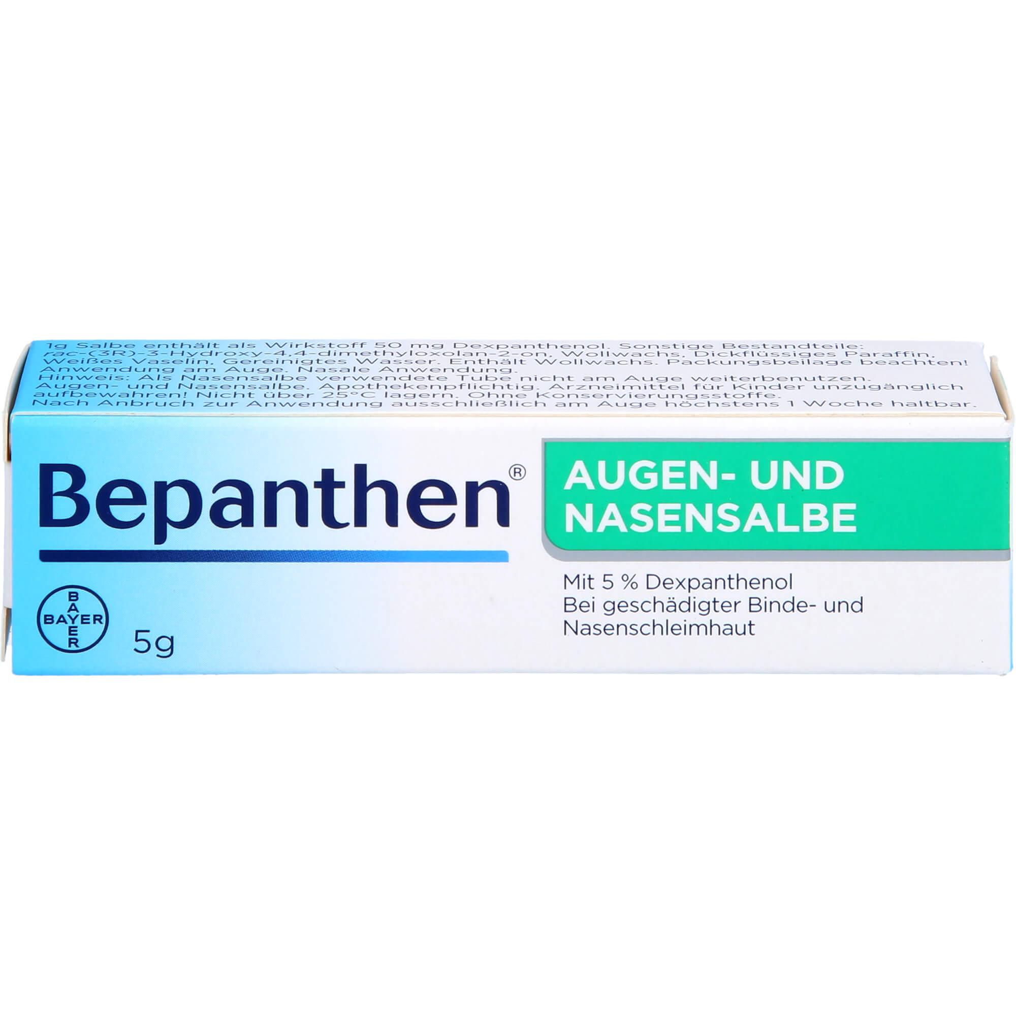 BEPANTHEN-Augen-und-Nasensalbe