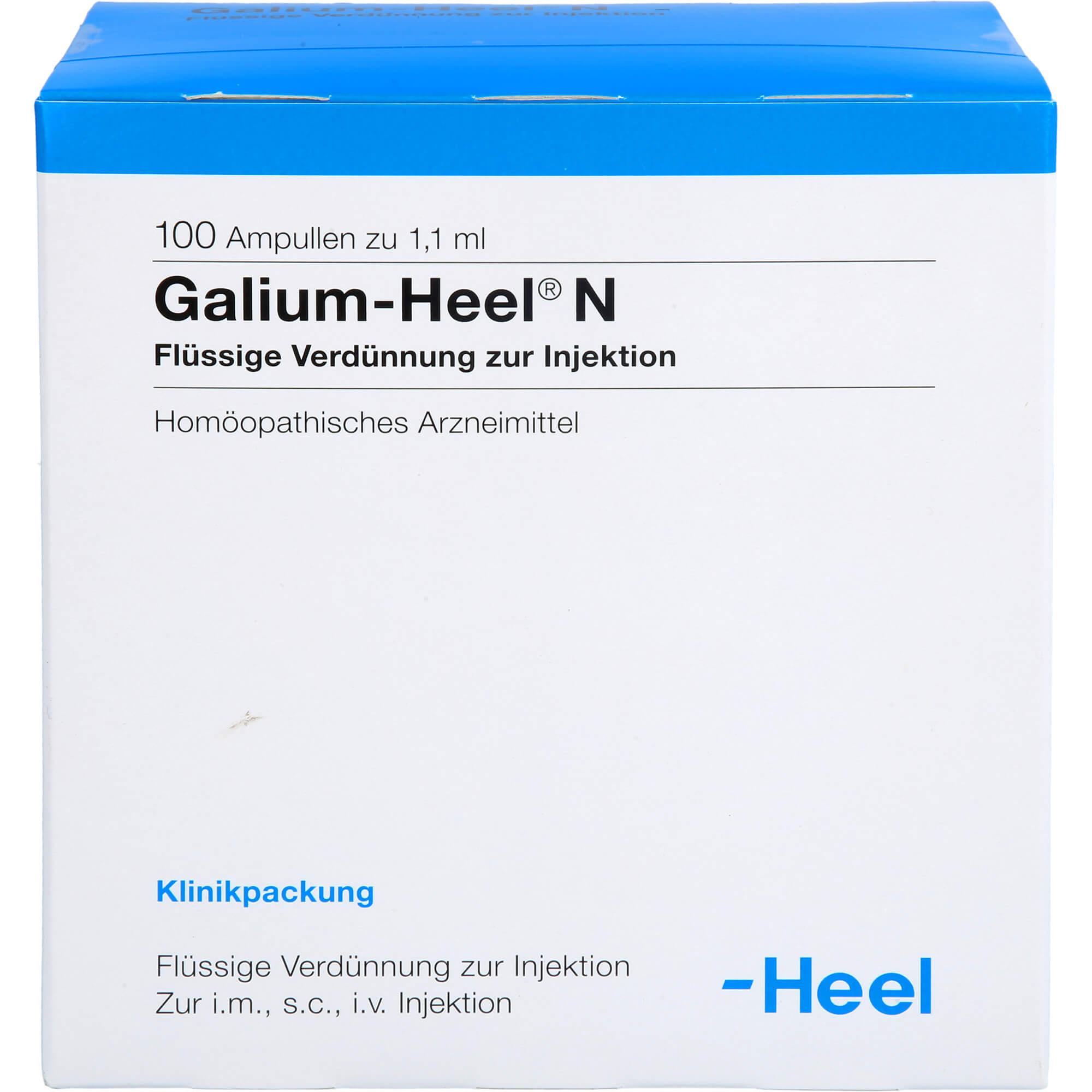GALIUM-HEEL-N-Ampullen