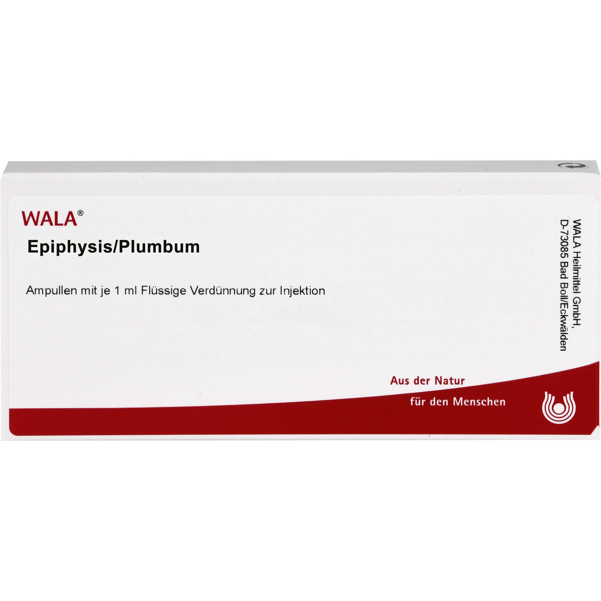 EPIPHYSIS-PLUMBUM-Ampullen