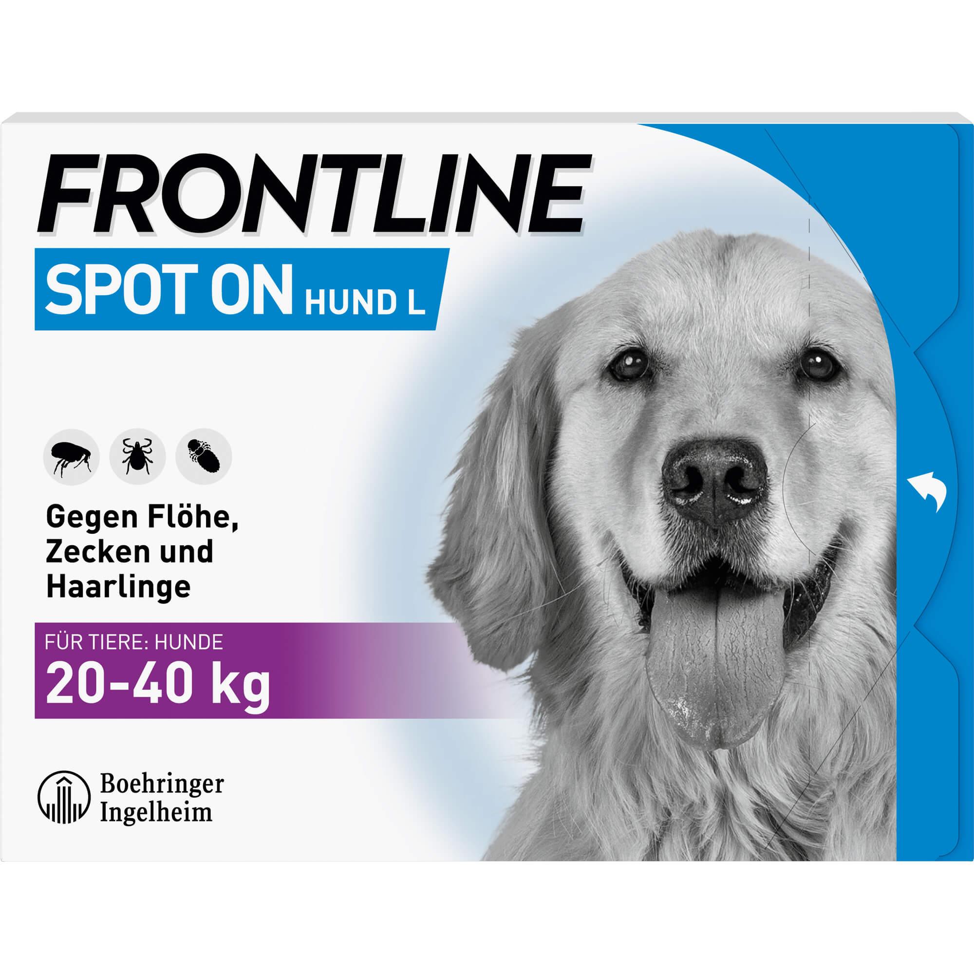 FRONTLINE-Spot-on-H-40-Loesung-f-Hunde