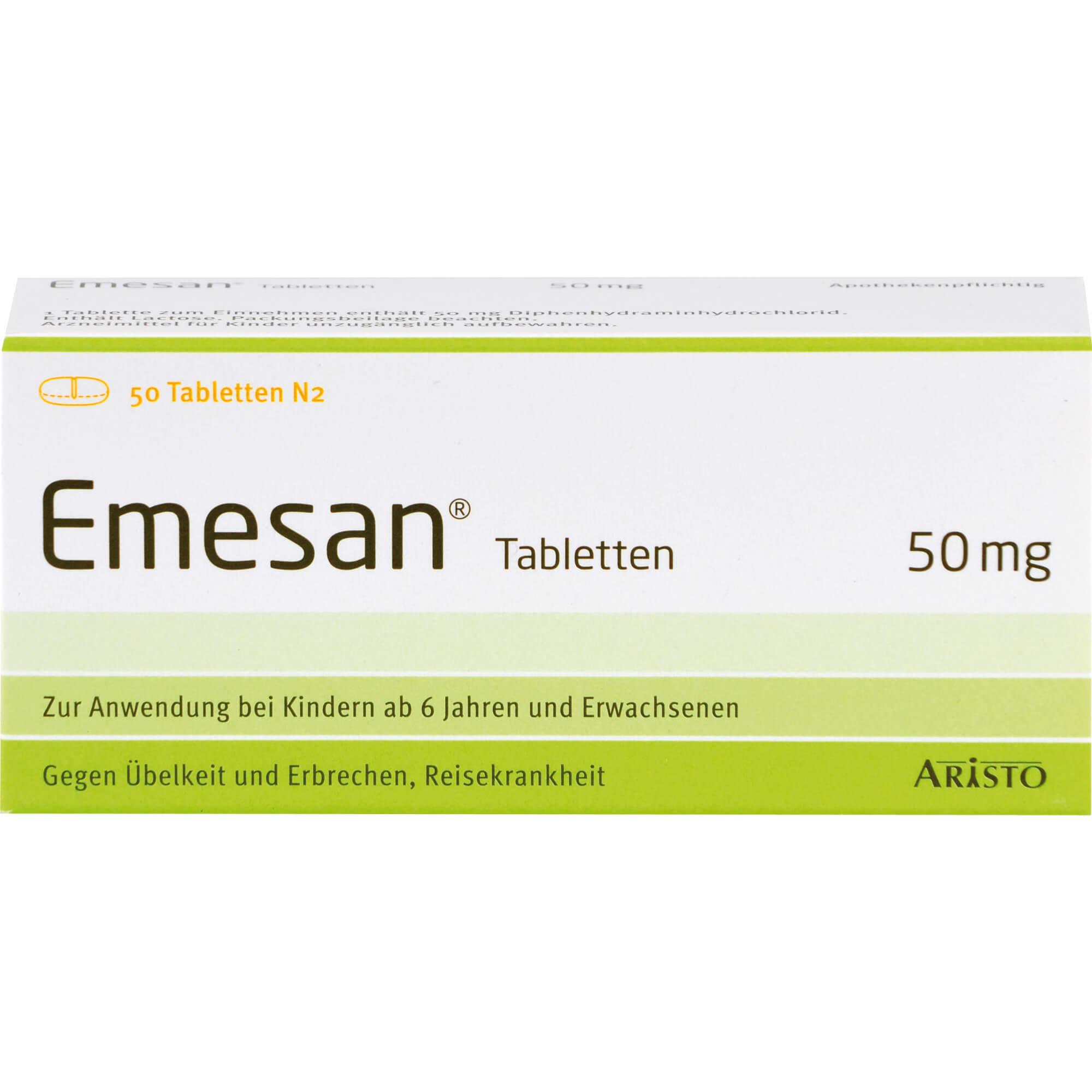 EMESAN-Tabletten