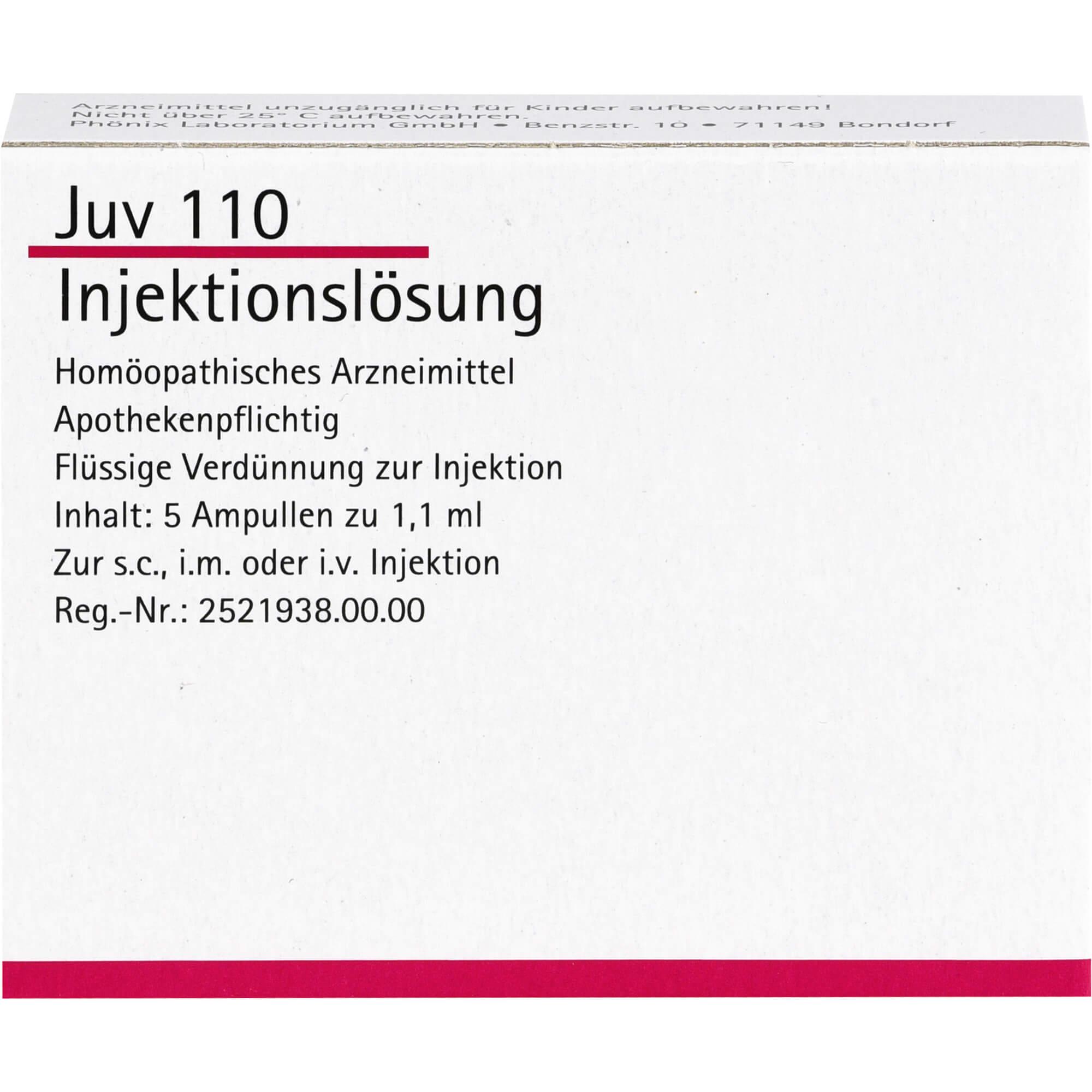 JUV-110-Ampullen