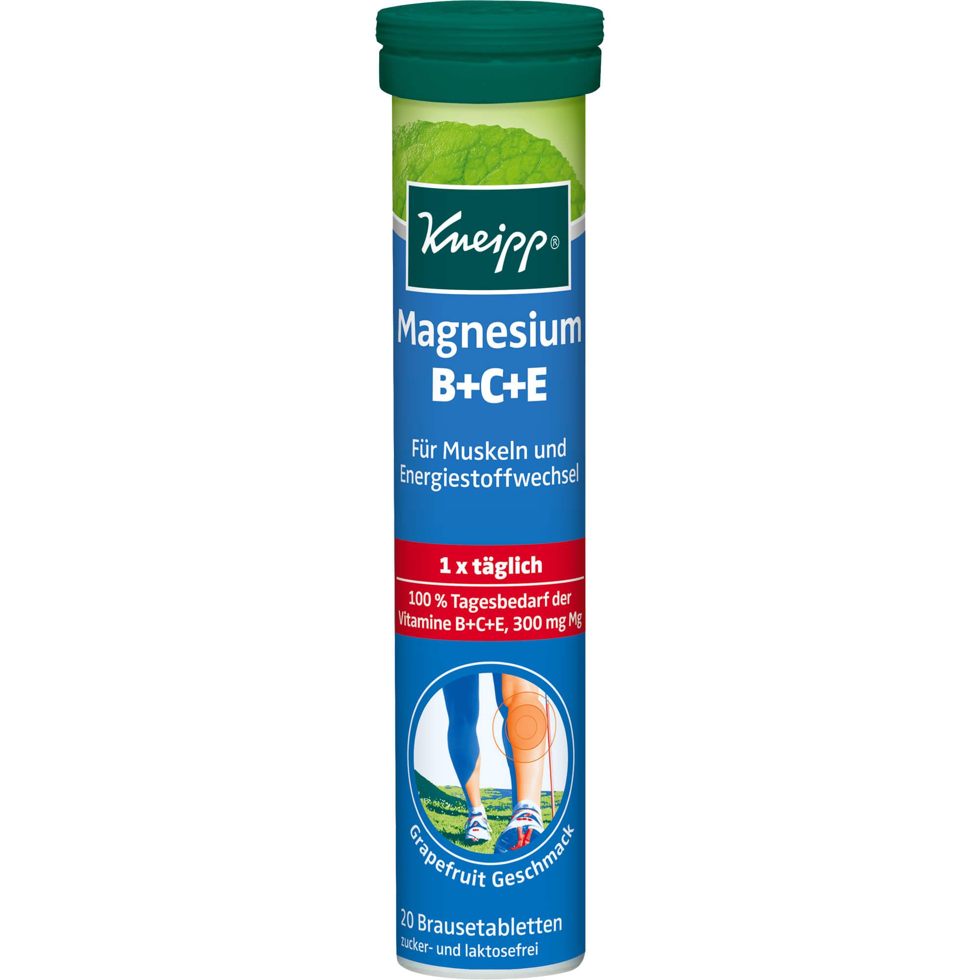 KNEIPP-Magnesium-Vitamine-Brausetabletten