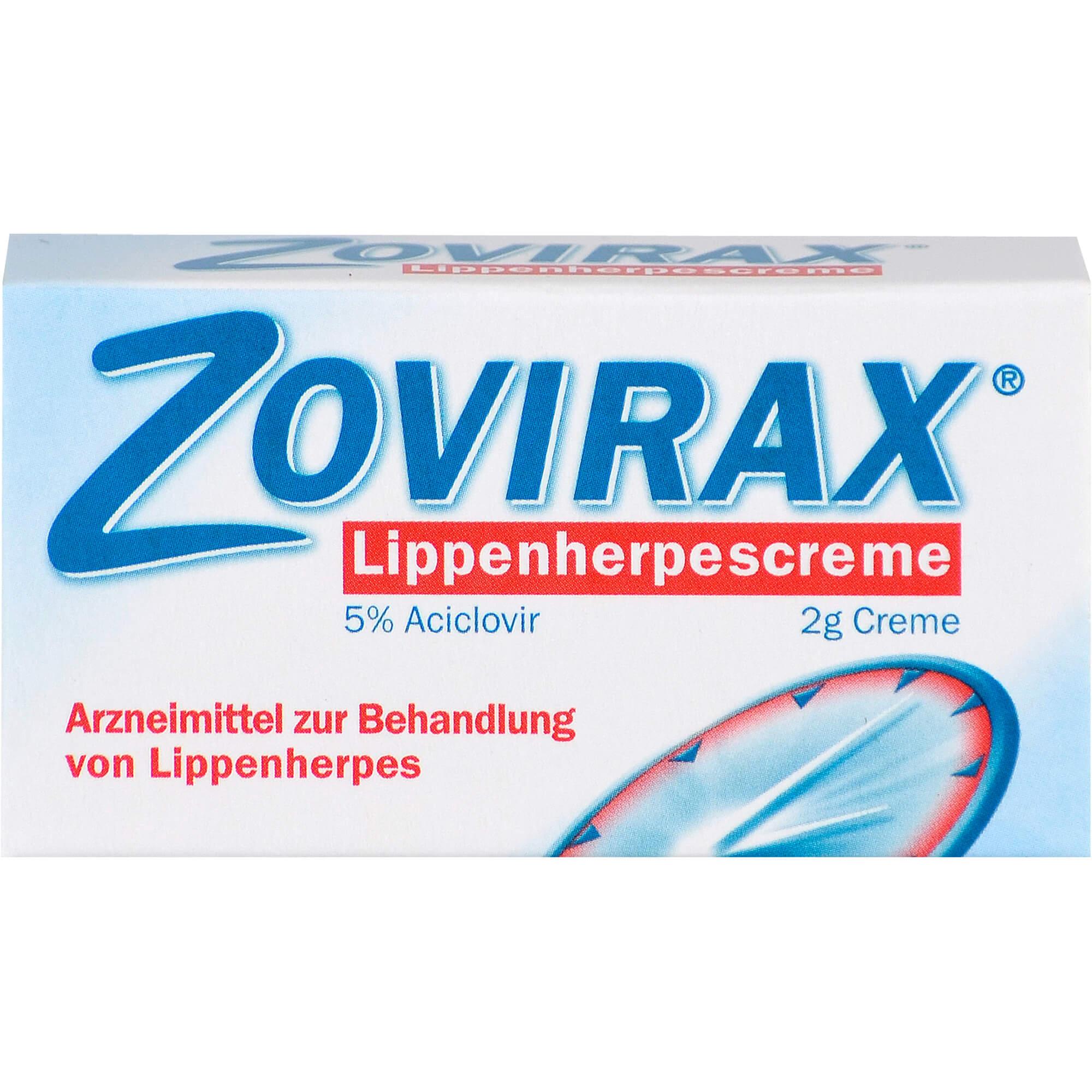 ZOVIRAX-Lippenherpes-Creme