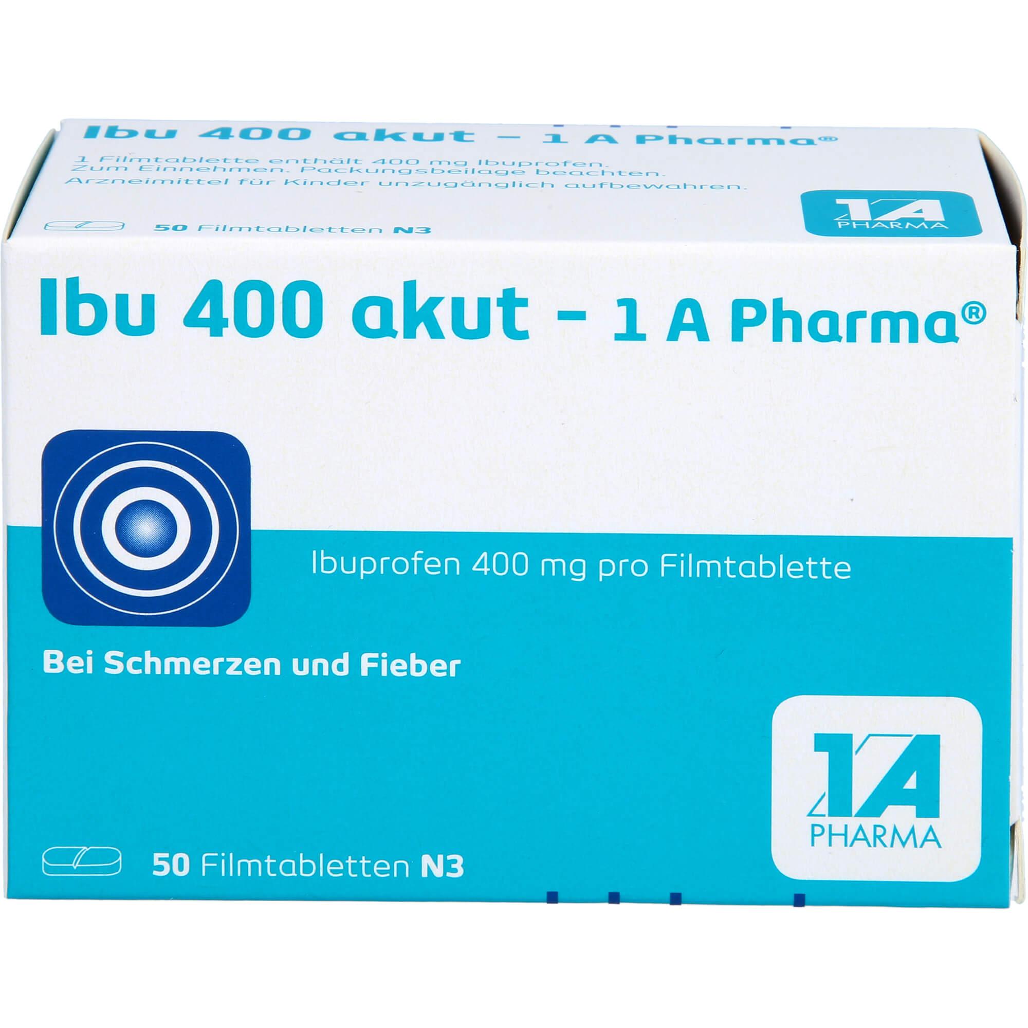 IBU-400-akut-1A-Pharma-Filmtabletten