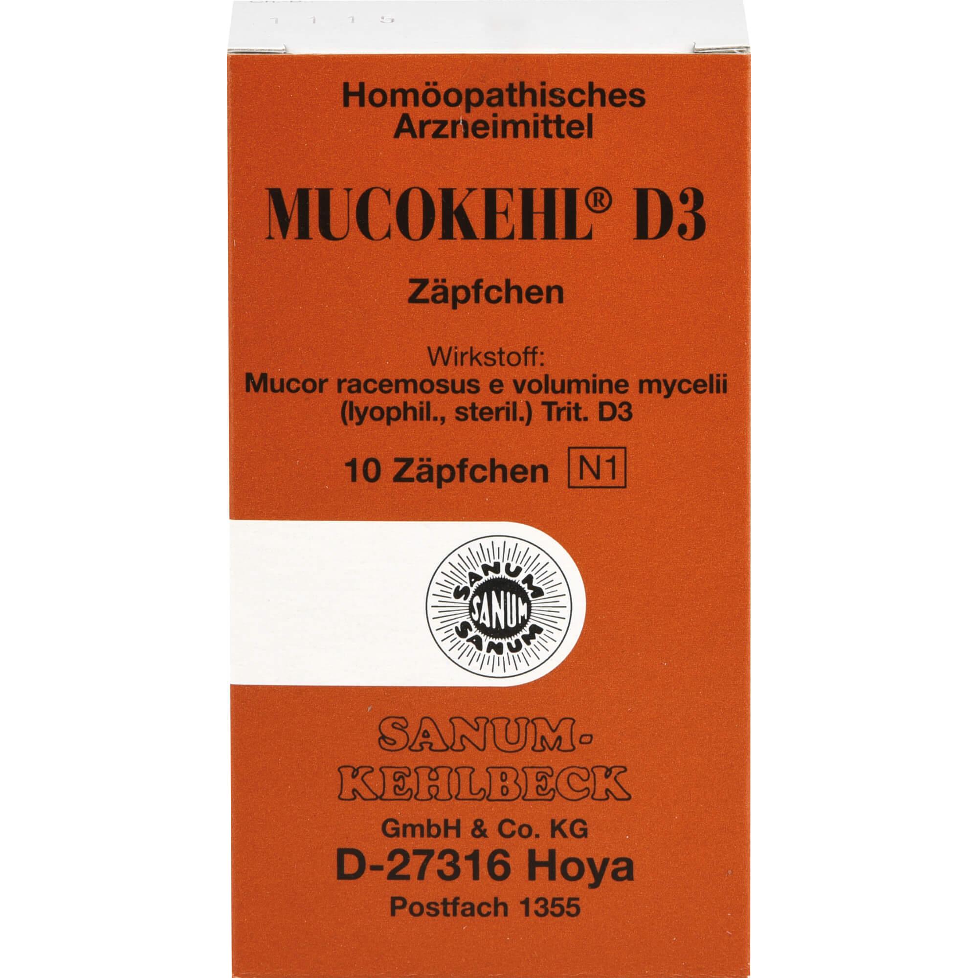 MUCOKEHL-Suppositorien-D-3