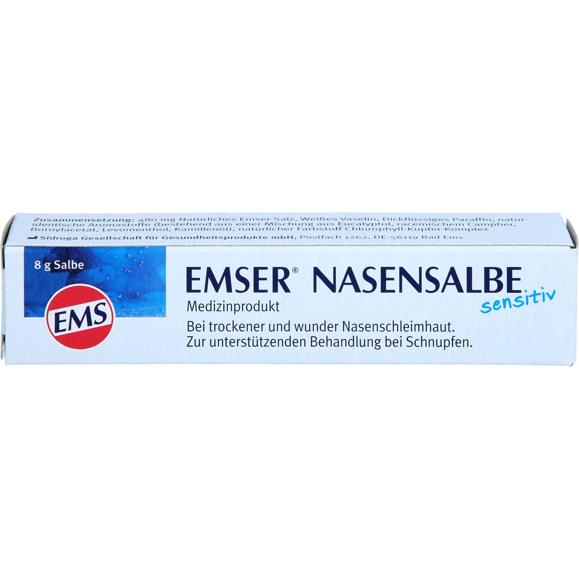 EMSER-Nasensalbe-Sensitiv