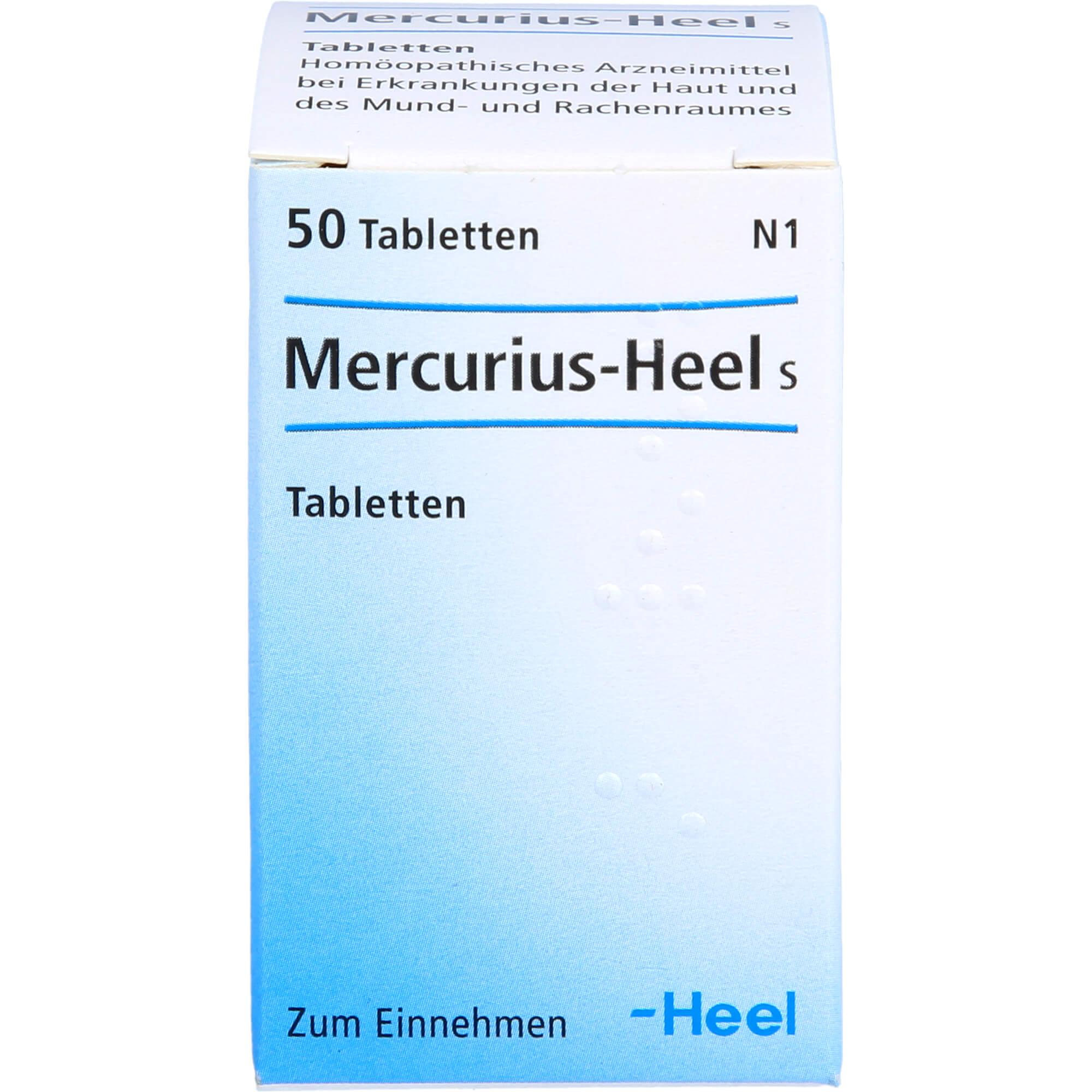 MERCURIUS-HEEL-S-Tabletten