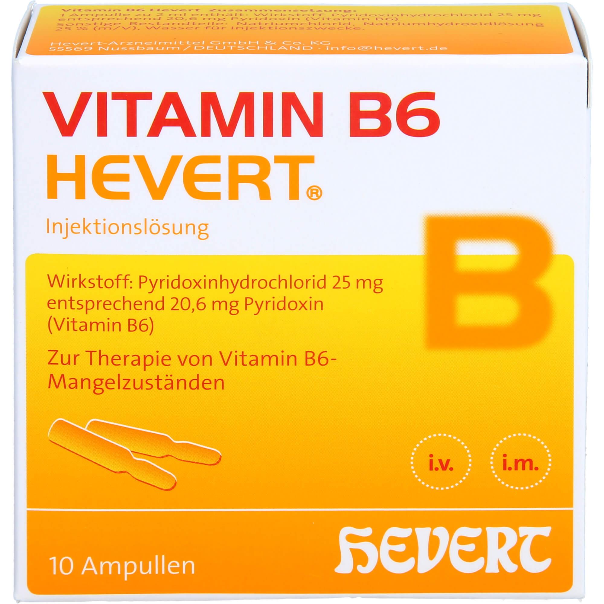 VITAMIN-B6-HEVERT-Ampullen