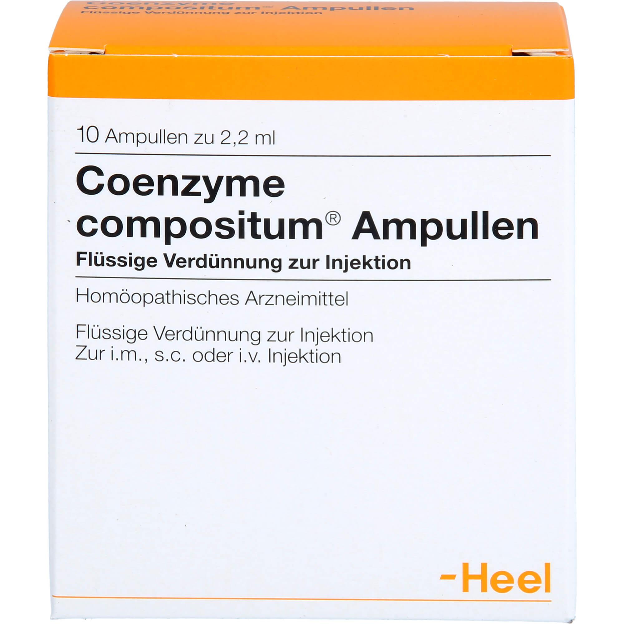COENZYME-COMPOSITUM-Ampullen