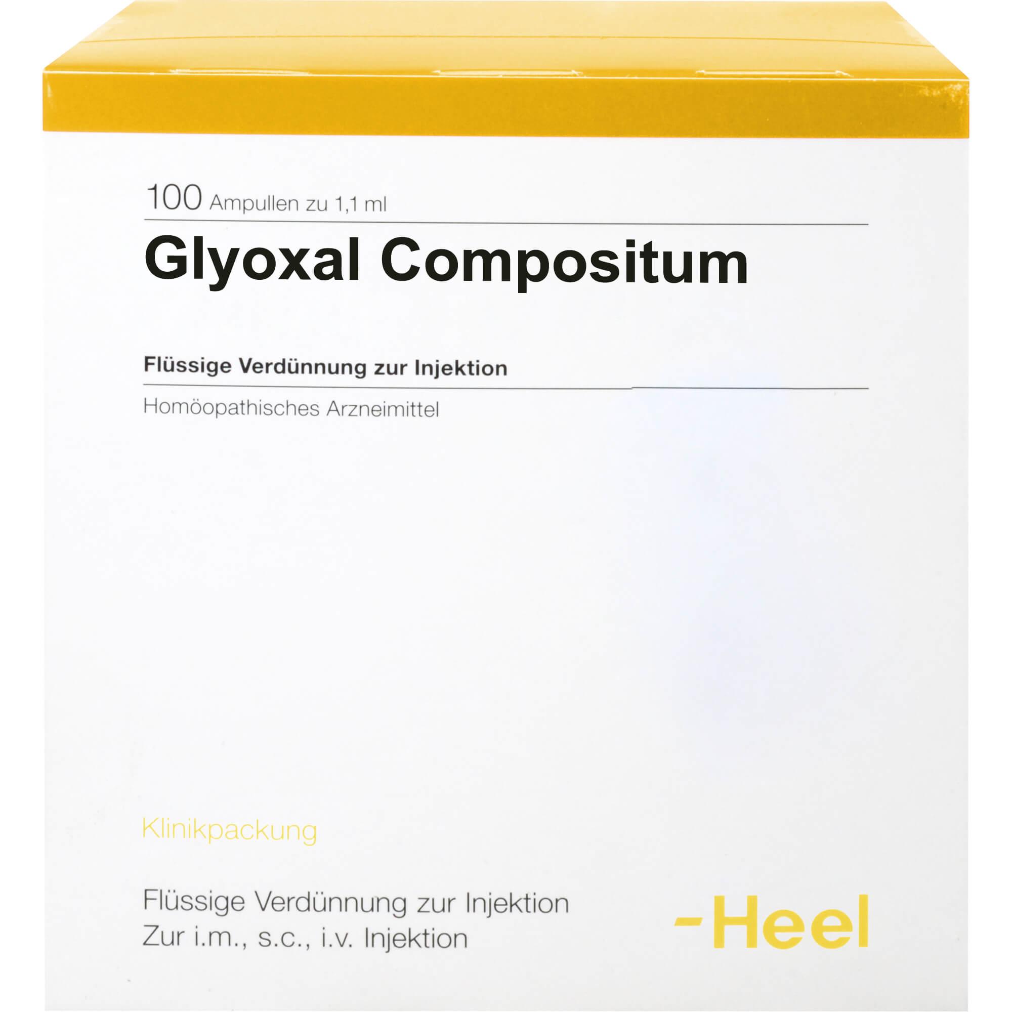 GLYOXAL-compositum-Ampullen