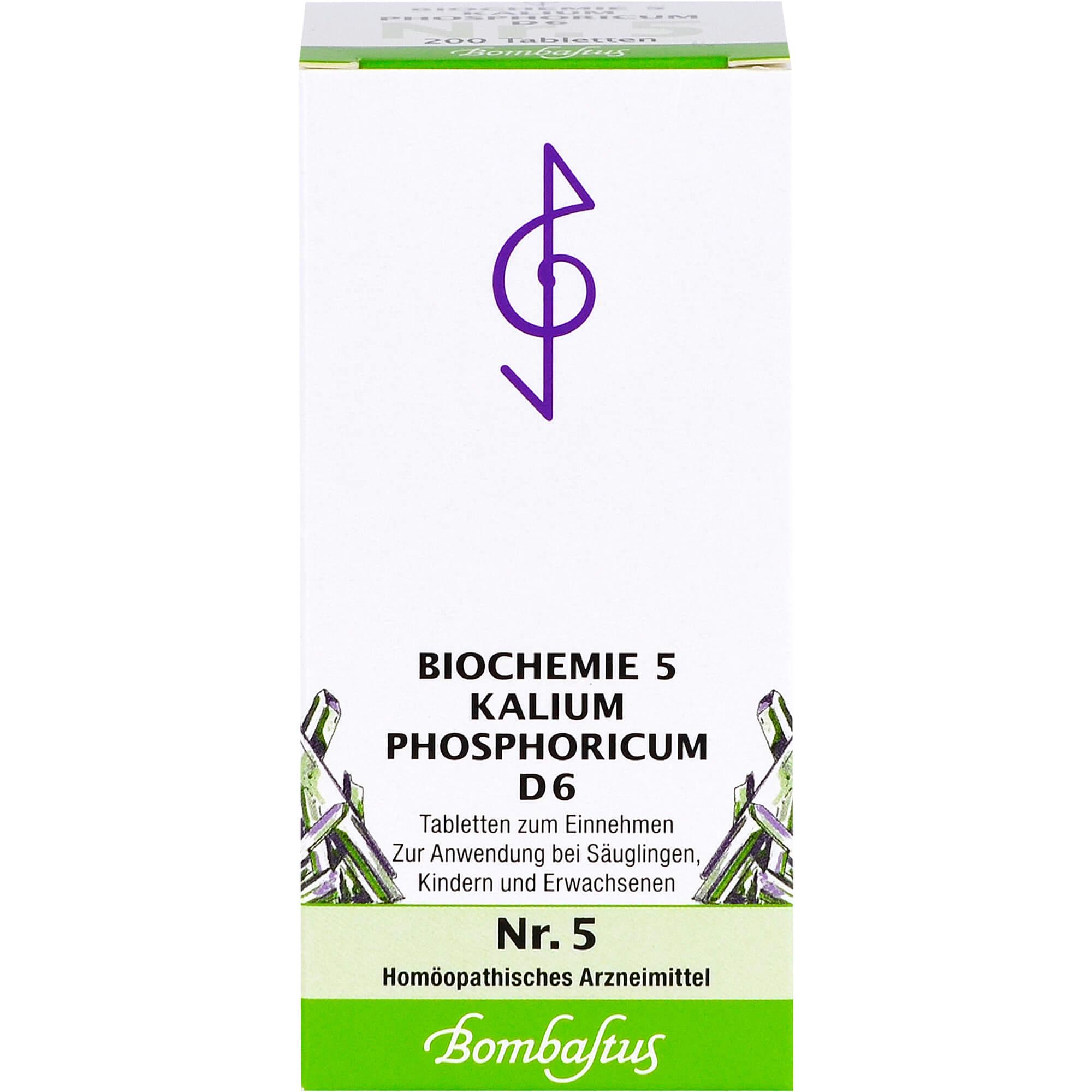BIOCHEMIE-5-Kalium-phosphoricum-D-6-Tabletten