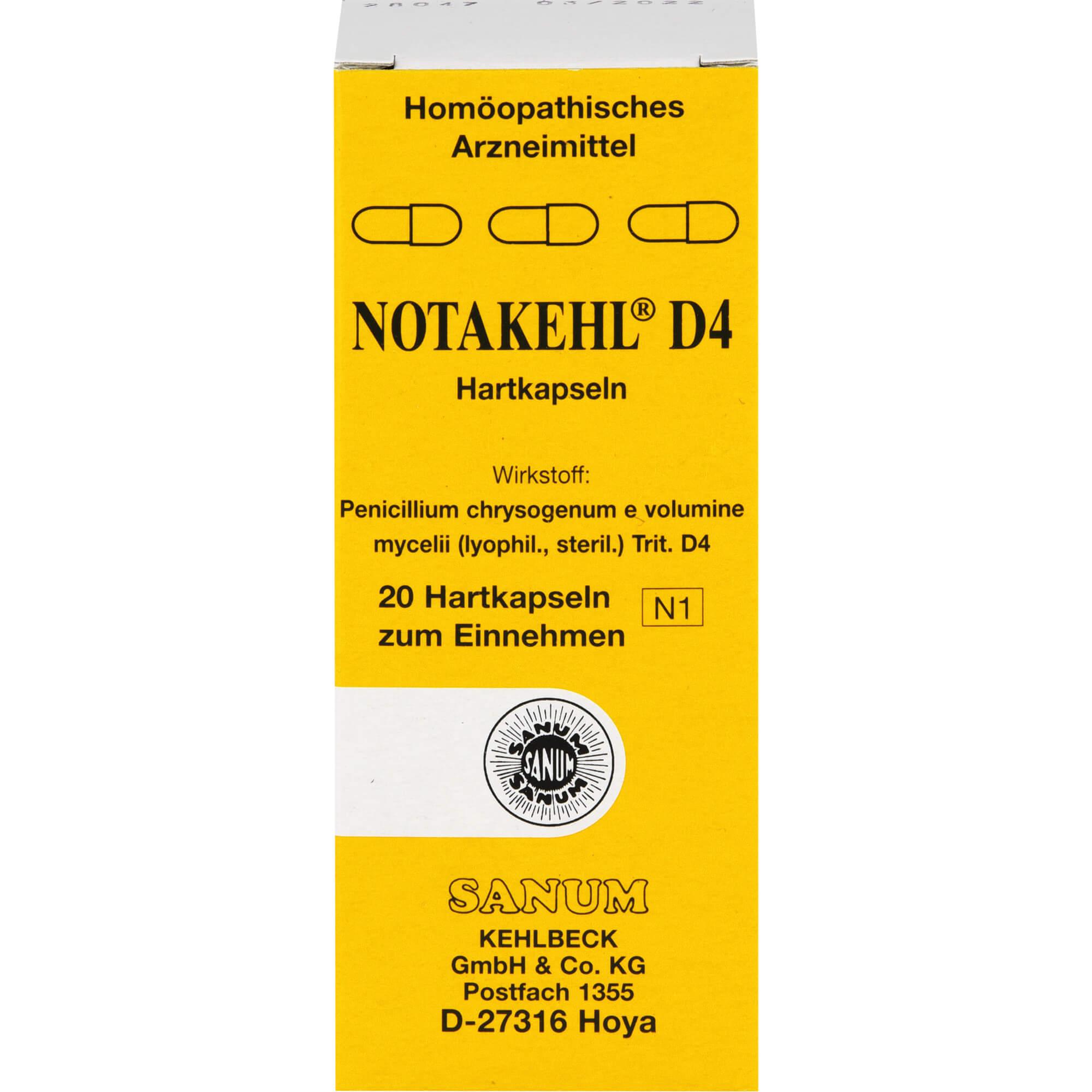 NOTAKEHL-D-4-Kapseln