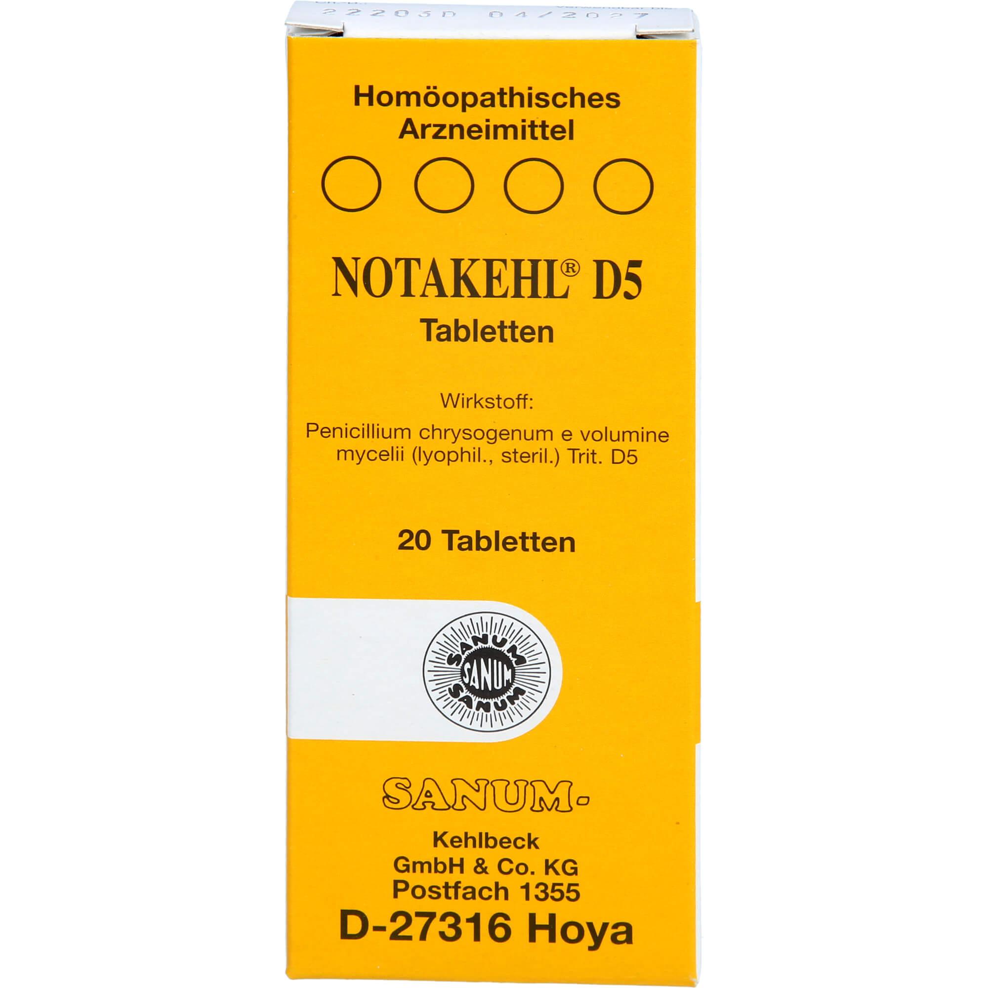 NOTAKEHL-D-5-Tabletten