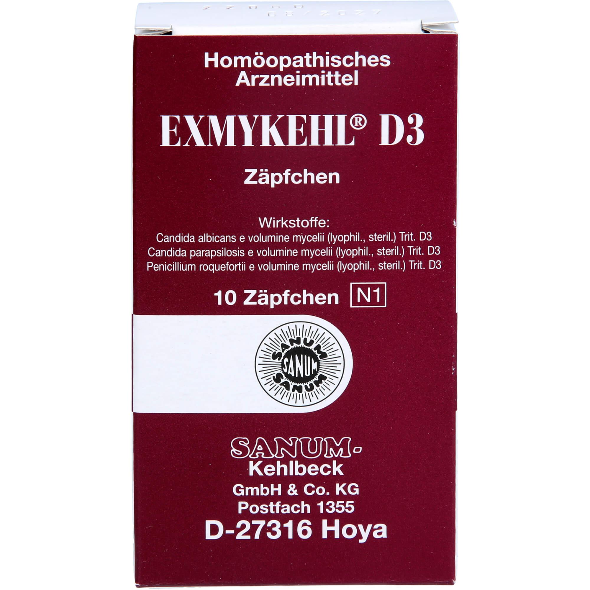 EXMYKEHL-D-3-Suppositorien