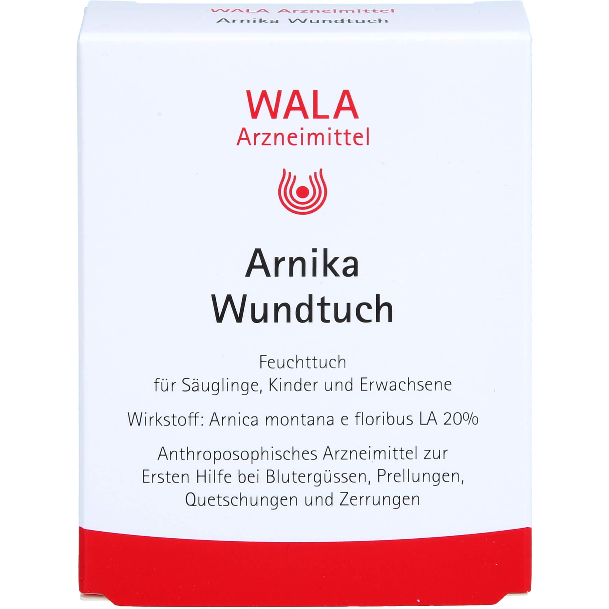 ARNIKA-WUNDTUCH