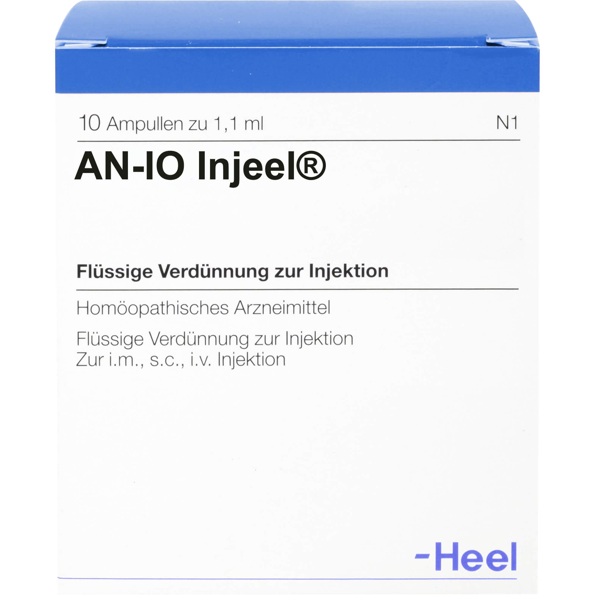 AN-IO-Injeel-Ampullen