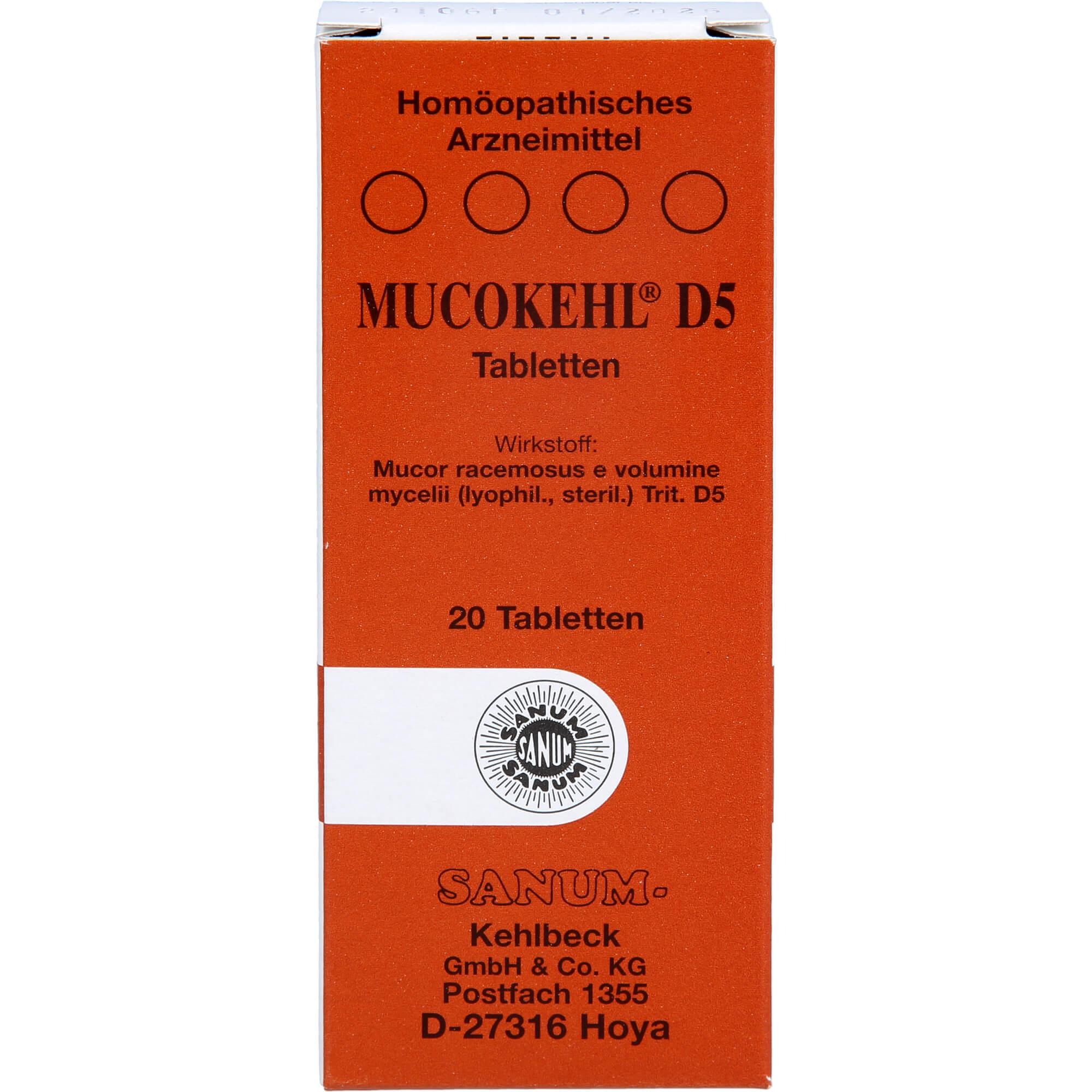 MUCOKEHL-Tabletten-D-5