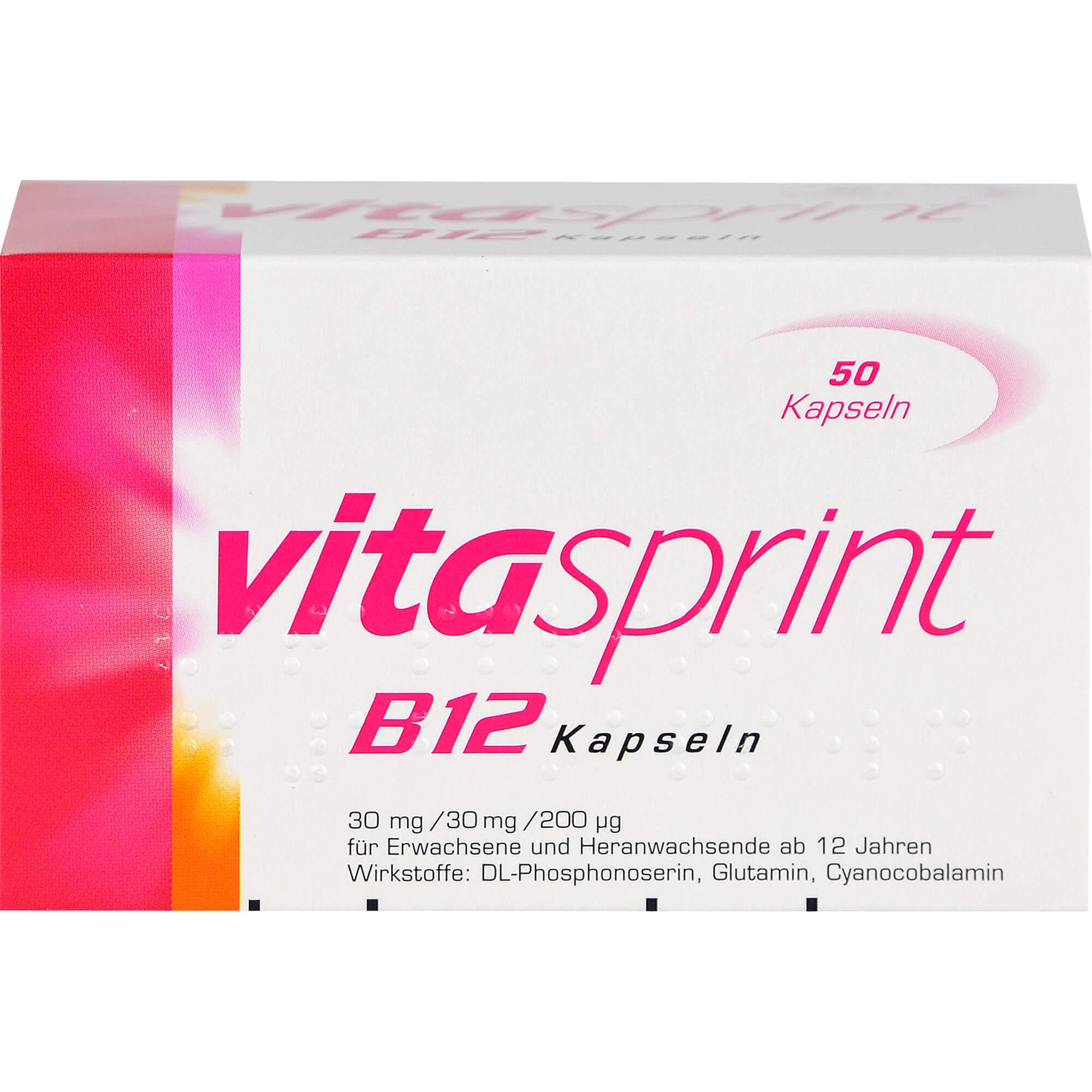 VITASPRINT-B12-Kapseln