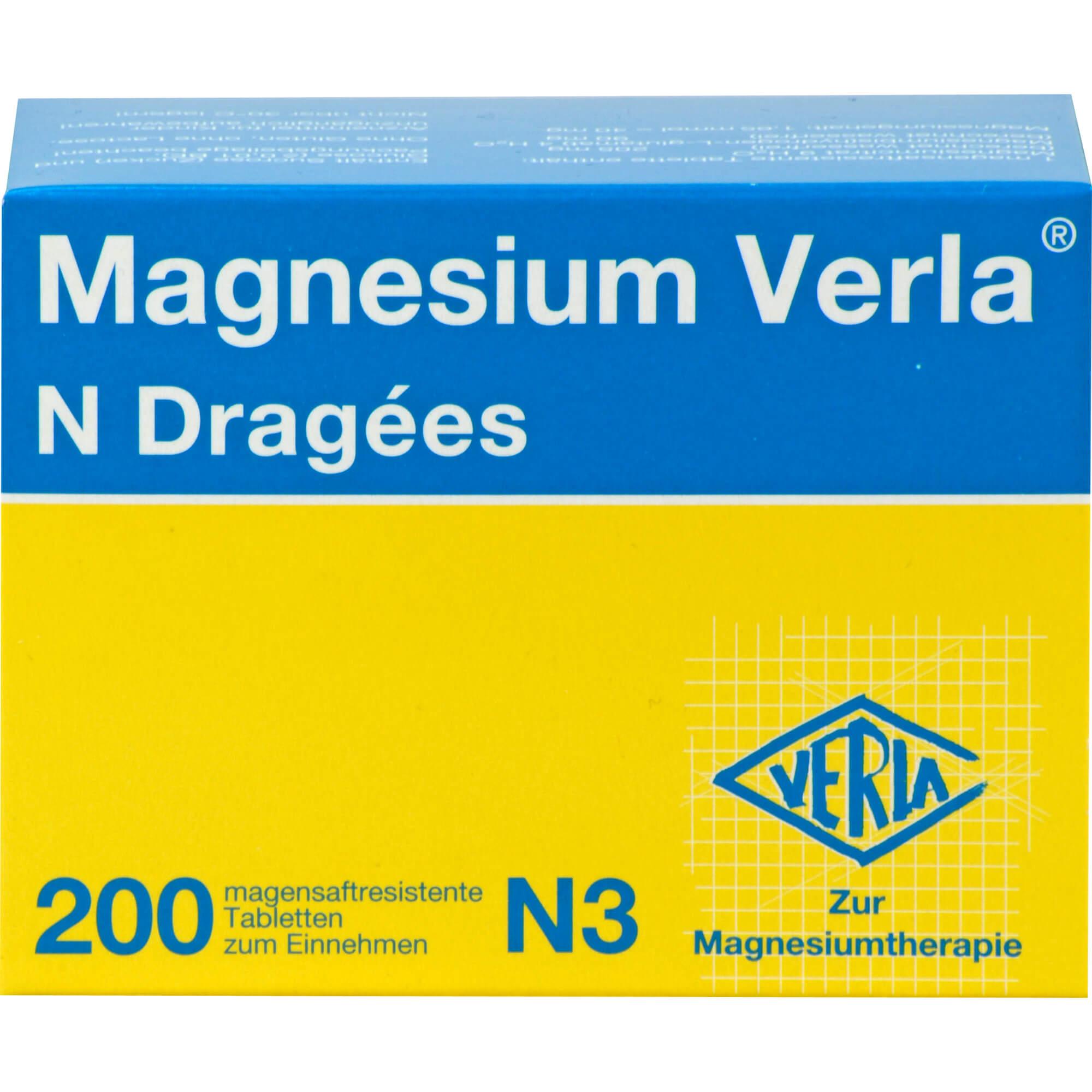 MAGNESIUM-VERLA-N-Dragees