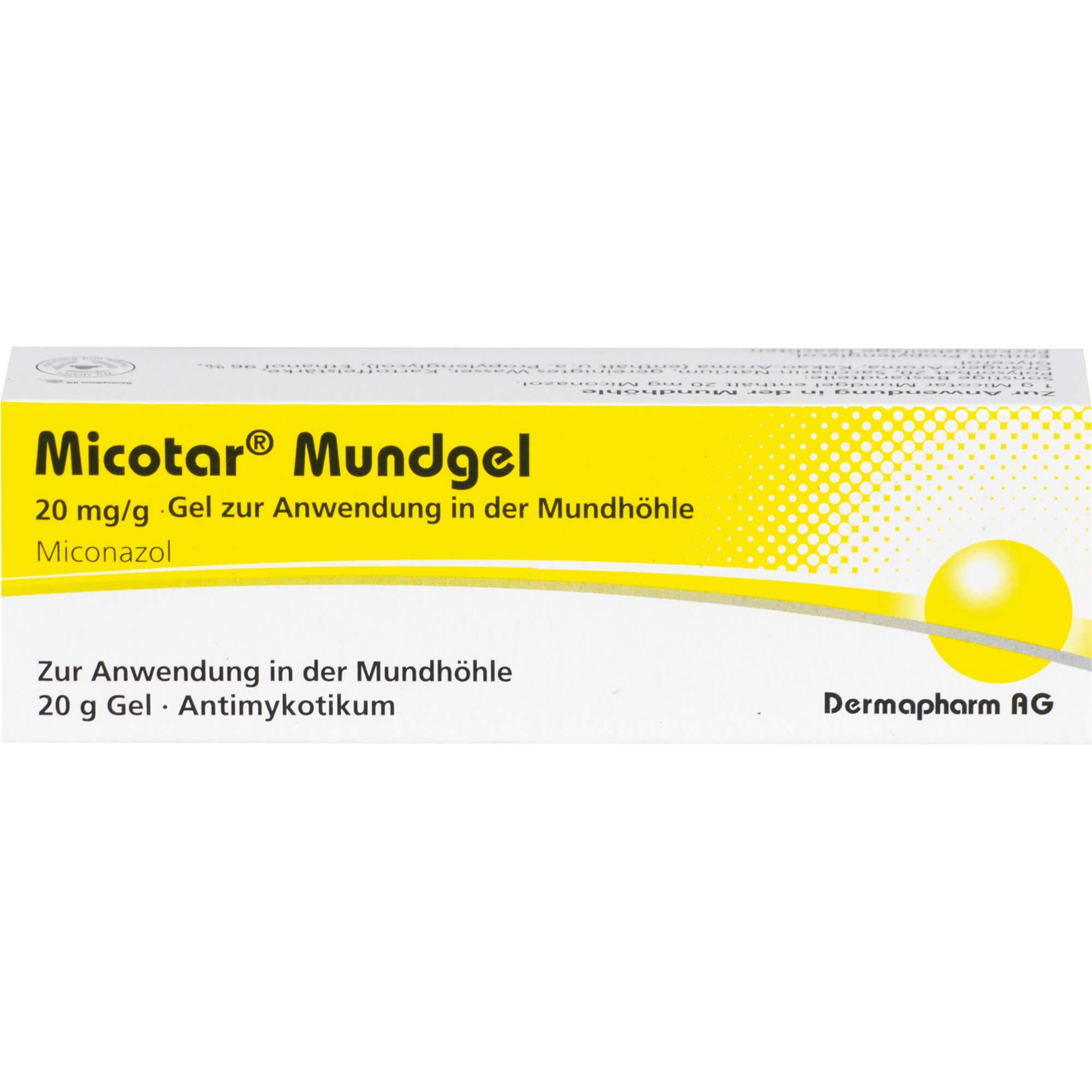 MICOTAR-Mundgel