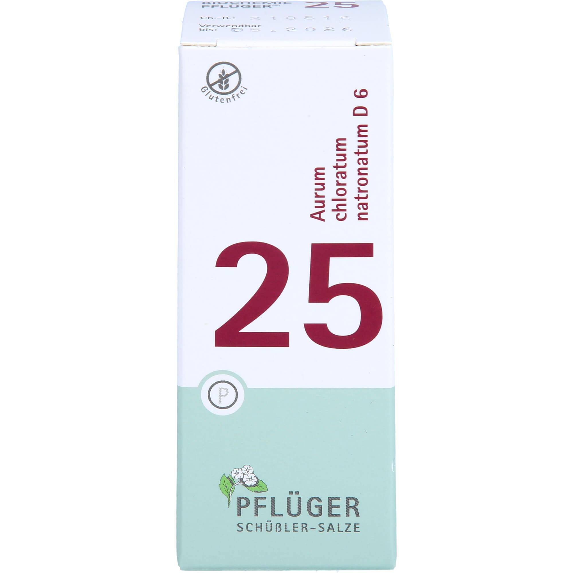 BIOCHEMIE-Pflueger-25-Aurum-chlorat-natron-D-6-Tab