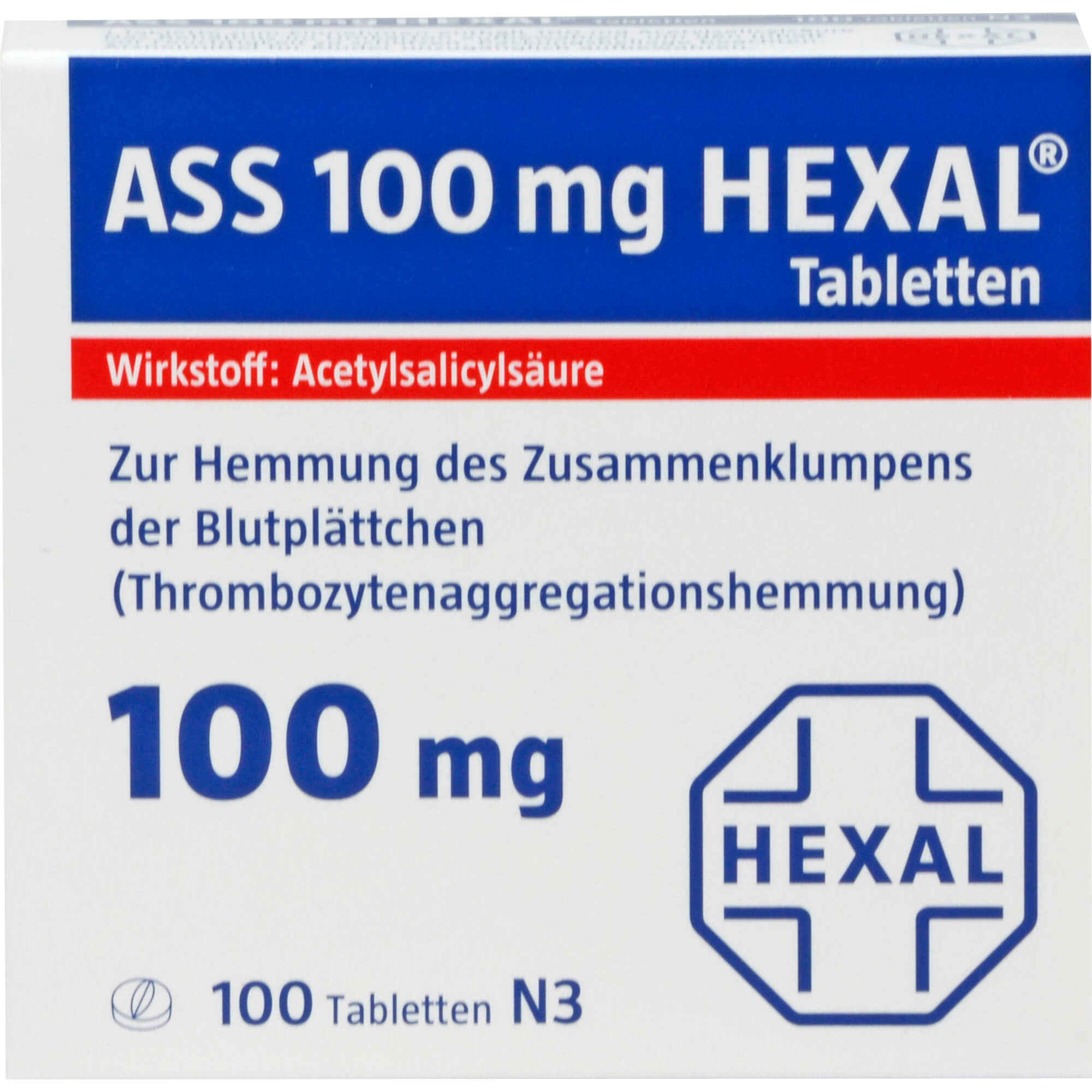 ASS-100-HEXAL-Tabletten