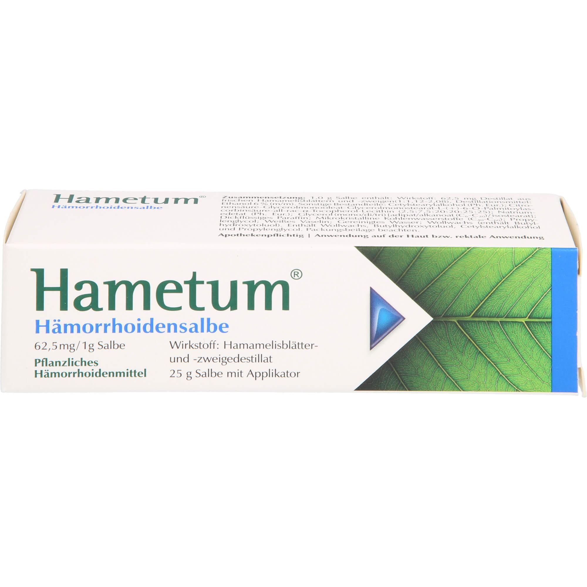 HAMETUM-Haemorrhoiden-Salbe