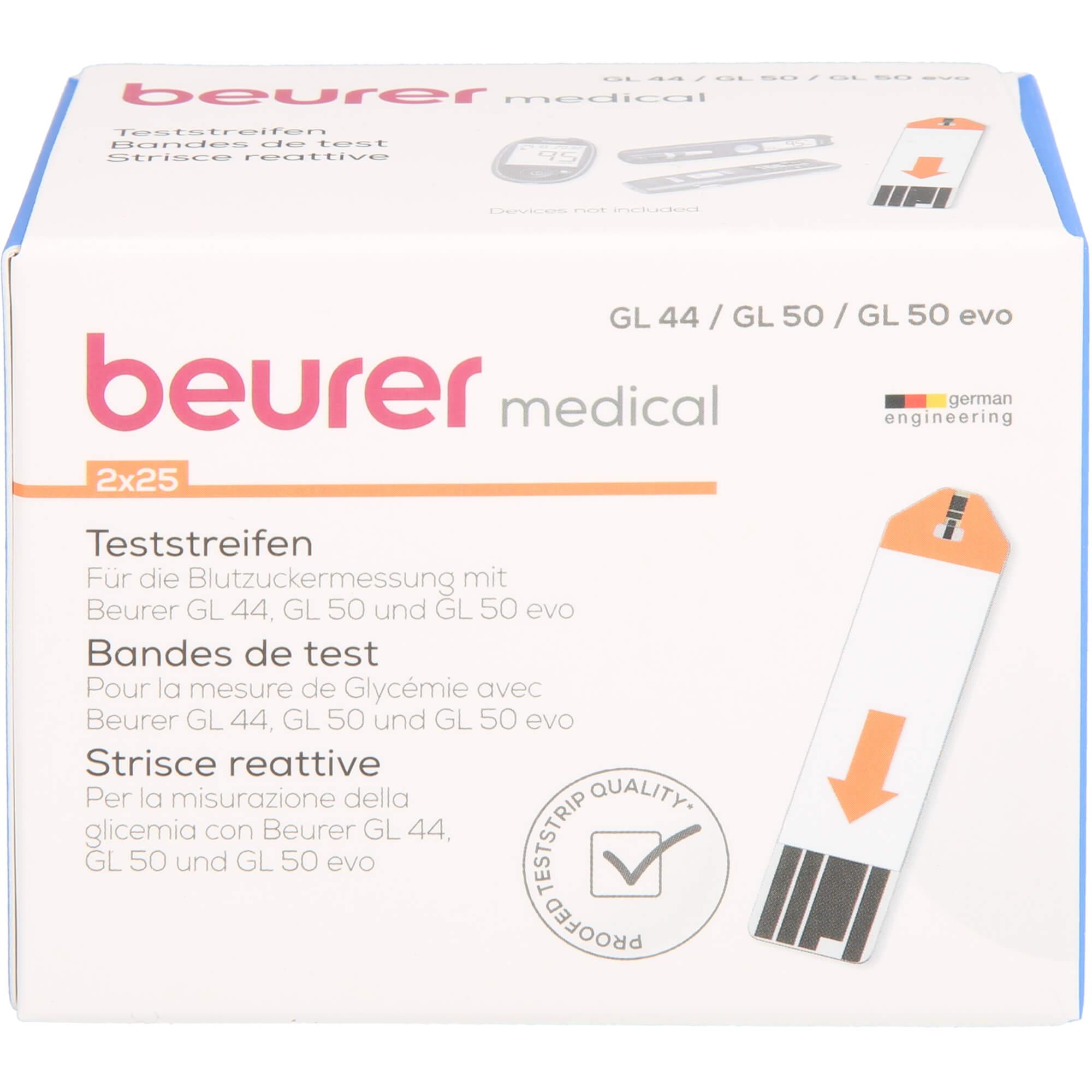 BEURER-GL44-GL50-GL50evo-Teststreifen