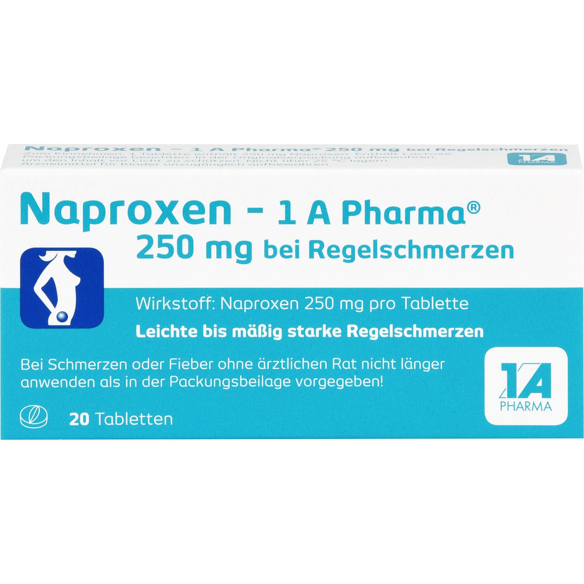 NAPROXEN-1A-Pharma-250-mg-b-Regelschmerzen-Tabl
