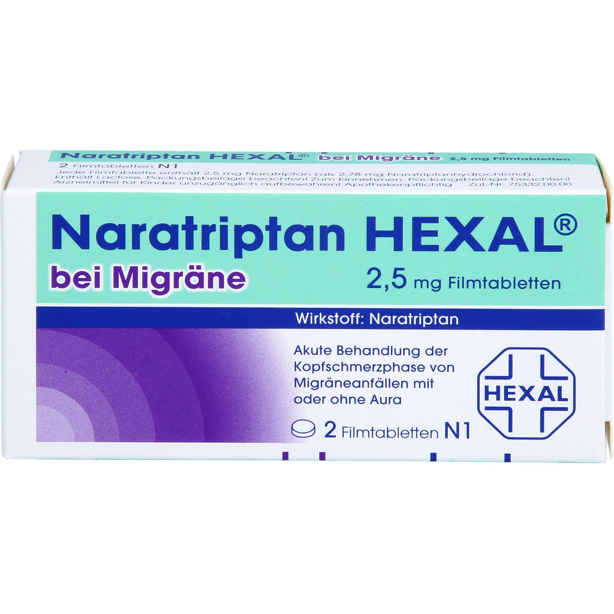 NARATRIPTAN-HEXAL-bei-Migraene-2-5-mg-Filmtabletten