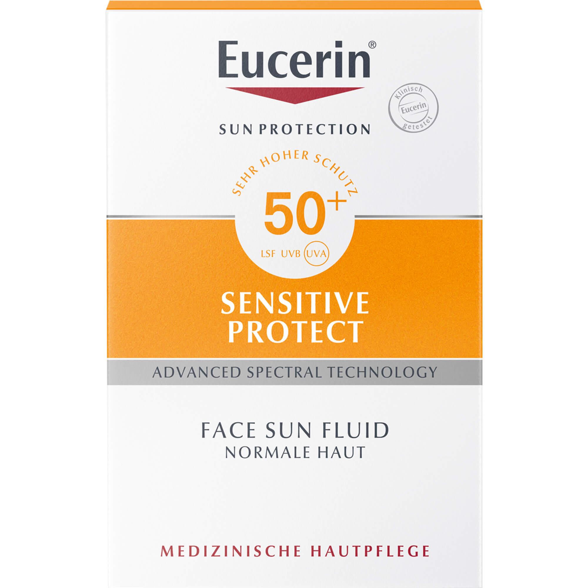 EUCERIN-Sun-Fluid-mattierend-LSF-50