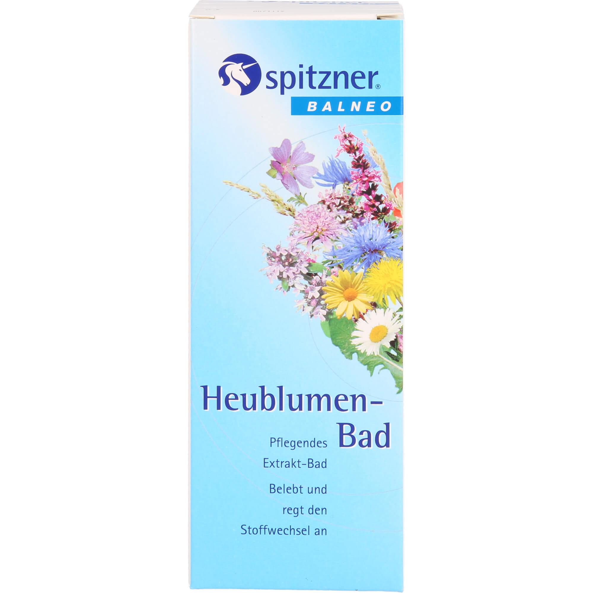 SPITZNER-Balneo-Heublumen-Bad
